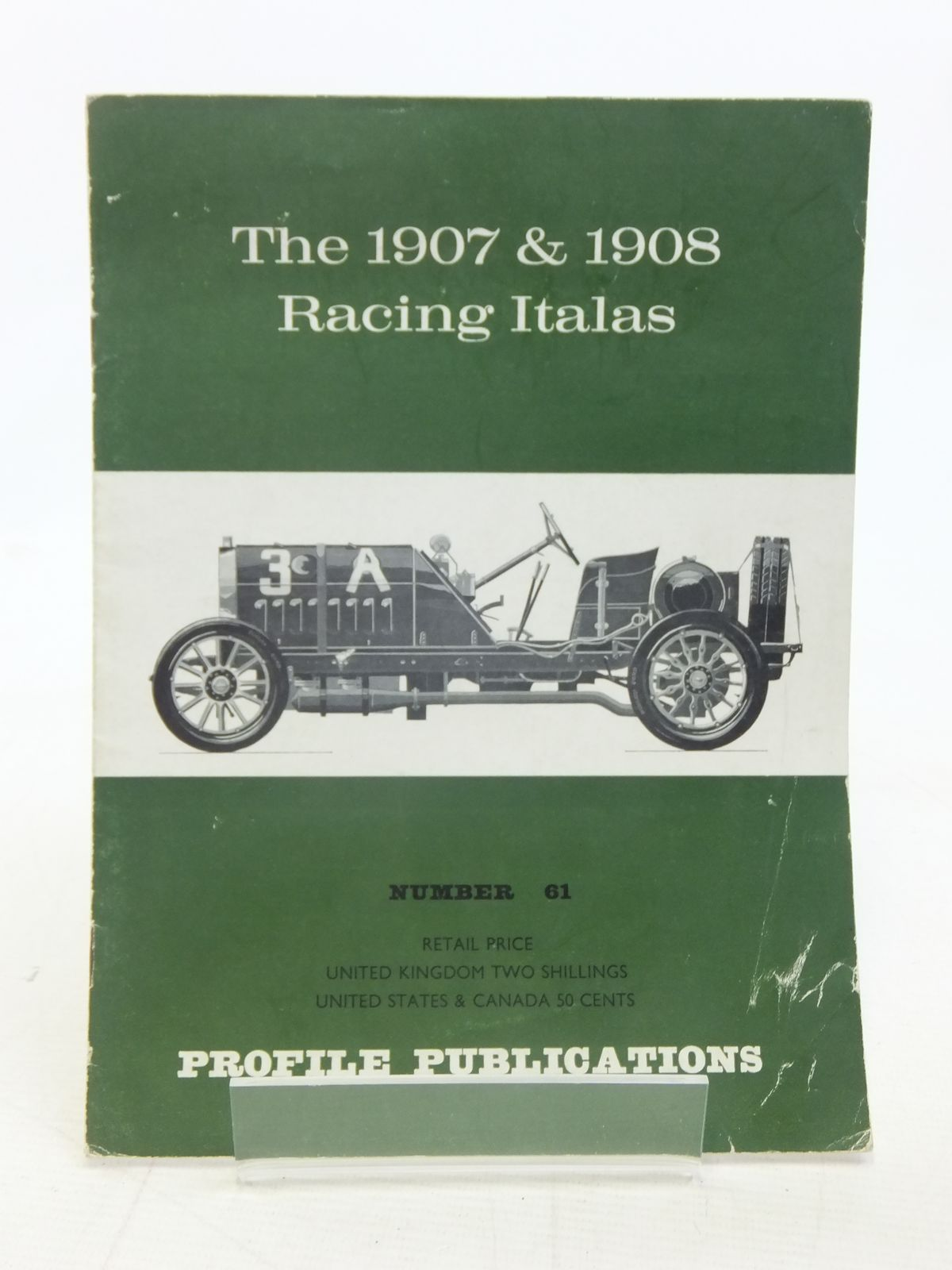 Photo of THE 1907 & 1908 RACING ITALAS written by Clutton, Cecil published by Profile Publications (STOCK CODE: 1606162)  for sale by Stella & Rose's Books