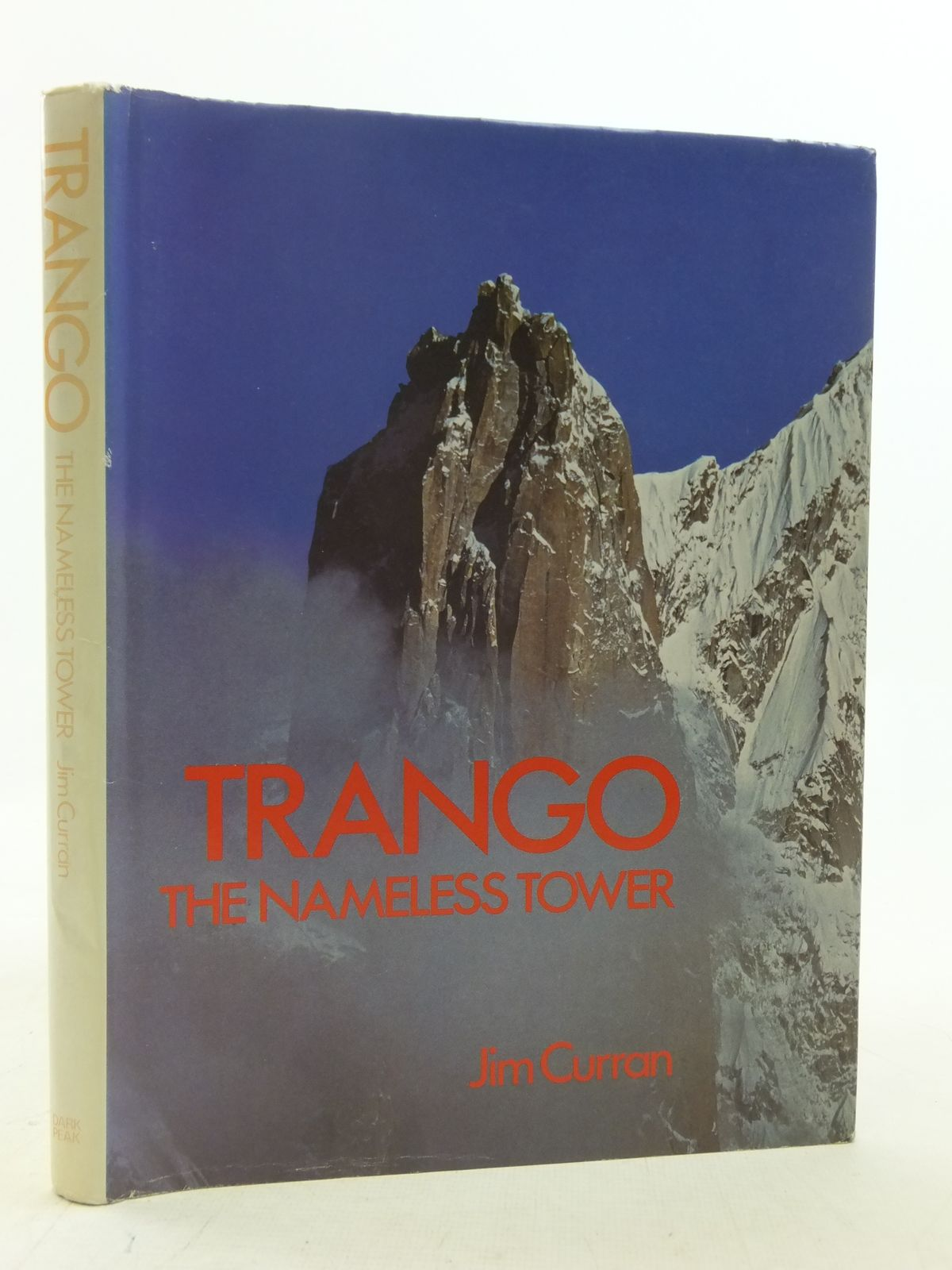 Photo of TRANGO THE NAMELESS TOWER written by Curran, Jim published by Dark Peak (STOCK CODE: 1606255)  for sale by Stella & Rose's Books