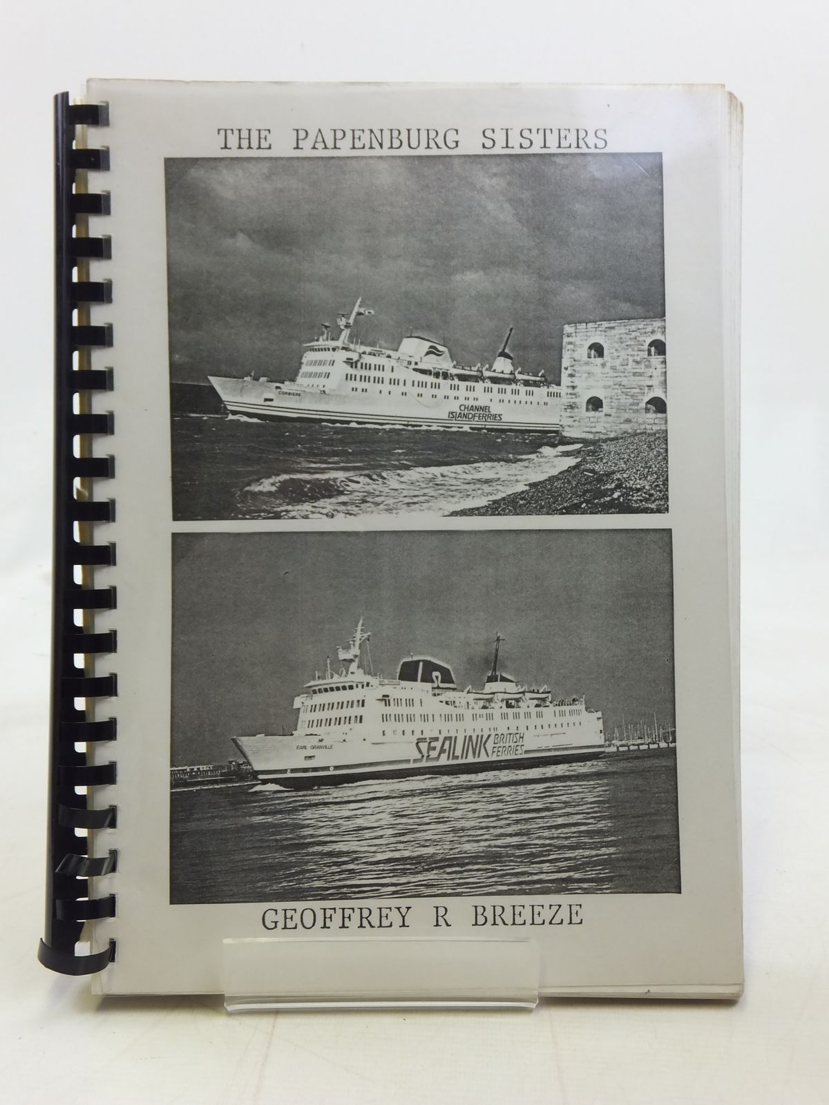 Photo of THE PAPENBURG SISTERS (PROOF COPY) written by Breeze, Geoffrey (STOCK CODE: 1606329)  for sale by Stella & Rose's Books