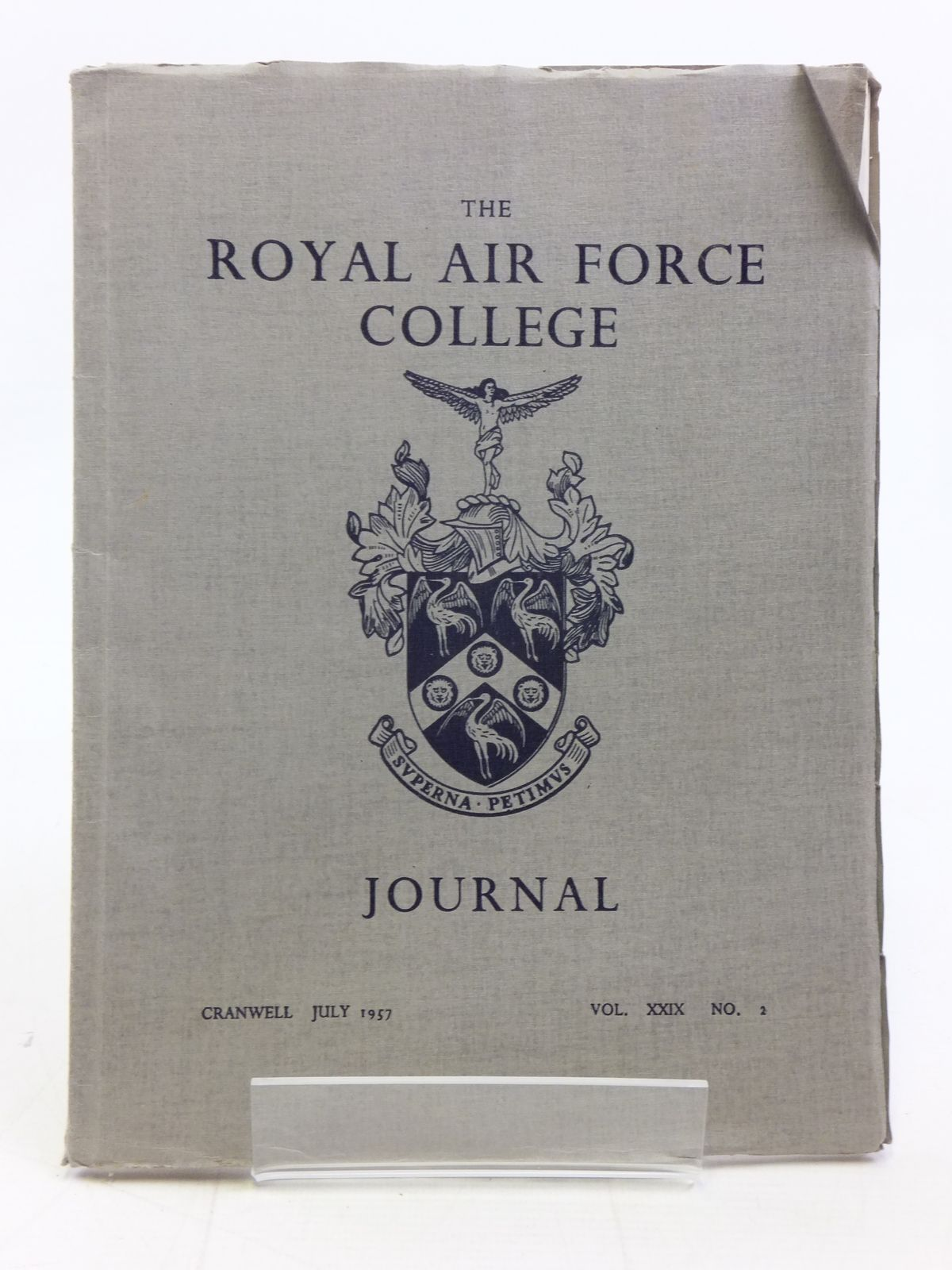 Photo of THE ROYAL AIR FORCE COLLEGE JOURNAL JULY 1957 VOL. XXIX No. 2 published by The Royal Air Force College (STOCK CODE: 1606346)  for sale by Stella & Rose's Books