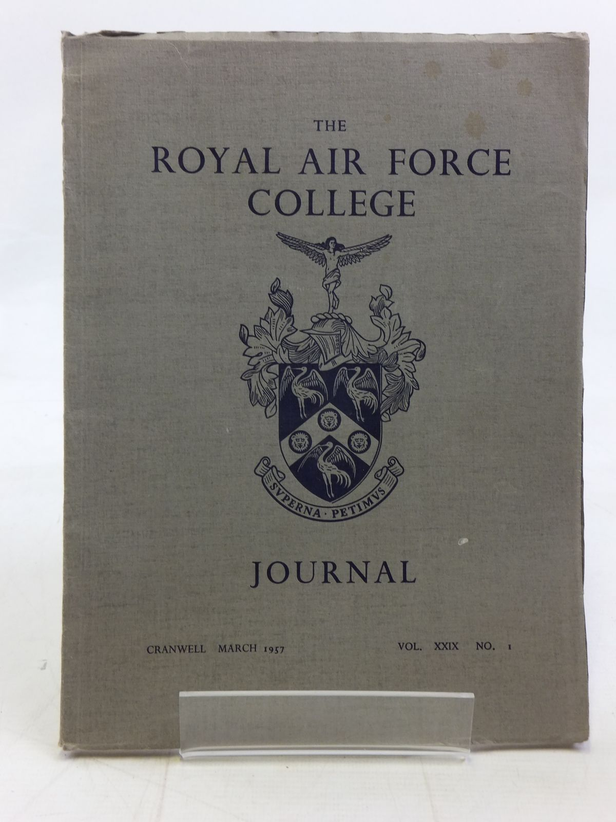 Photo of THE ROYAL AIR FORCE COLLEGE JOURNAL MARCH 1957 VOL. XXIX No. 1 published by The Royal Air Force College (STOCK CODE: 1606347)  for sale by Stella & Rose's Books