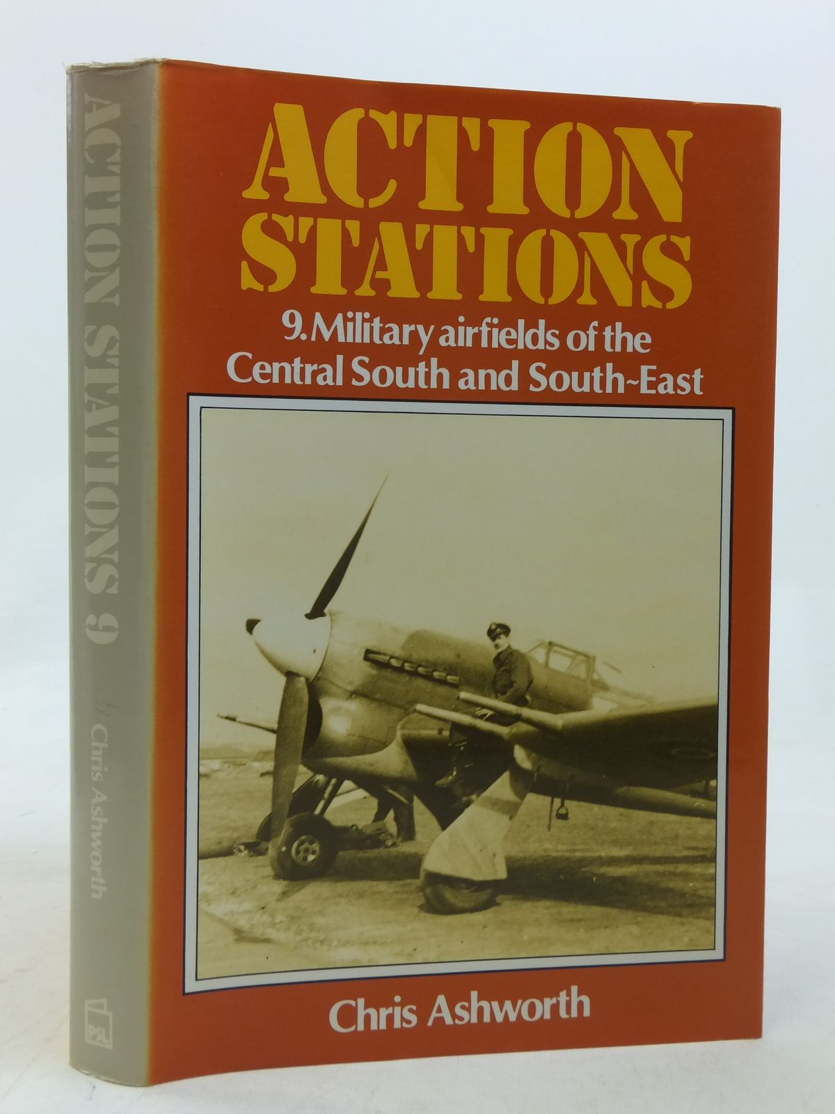 Photo of ACTION STATIONS 9 MILITARY AIRFIELDS OF CENTRAL SOUTH AND SOUTH EAST written by Ashworth, Chris published by Patrick Stephens Limited (STOCK CODE: 1606398)  for sale by Stella & Rose's Books