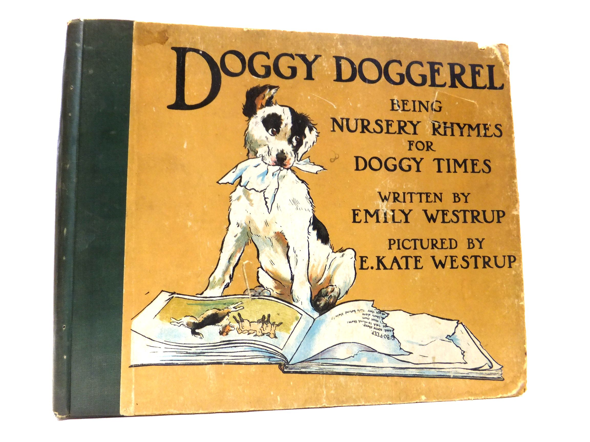 Photo of DOGGY DOGGEREL written by Westrup, Emily illustrated by Westrup, E. Kate published by Blackie & Son Ltd. (STOCK CODE: 1606442)  for sale by Stella & Rose's Books