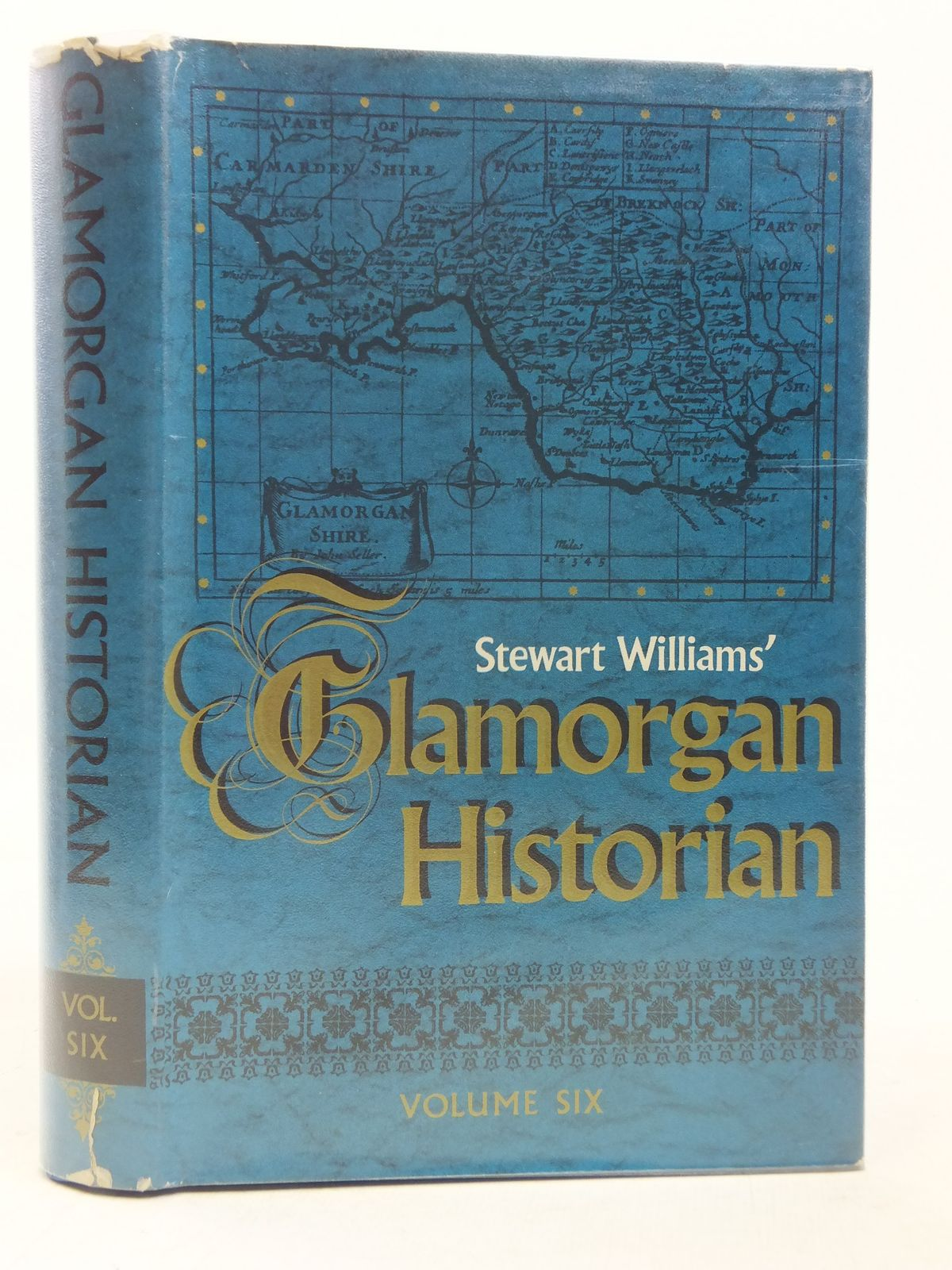 Photo of GLAMORGAN HISTORIAN VOLUME SIX written by Williams, Stewart published by D. Brown & Sons Limited (STOCK CODE: 1606453)  for sale by Stella & Rose's Books