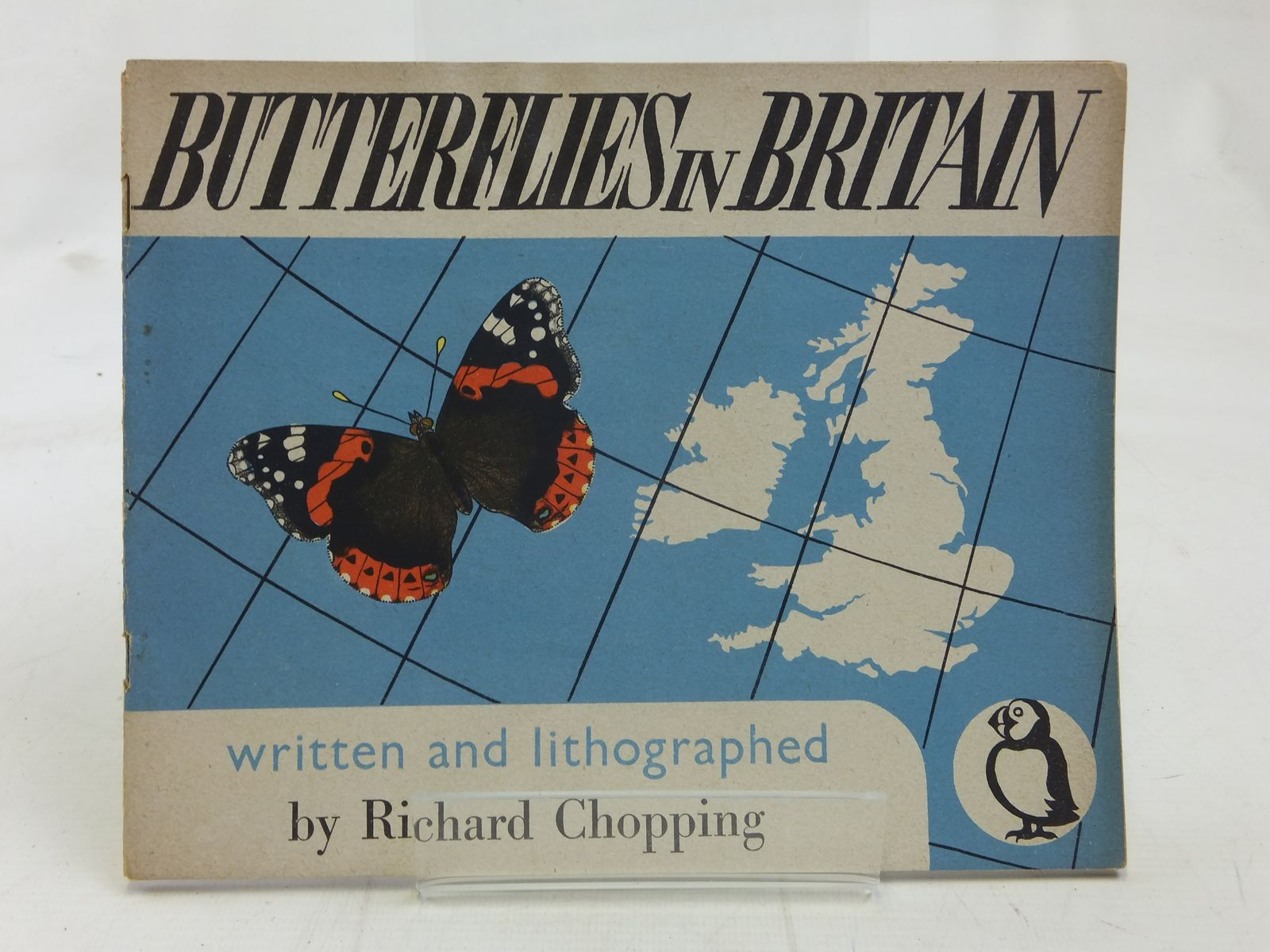 Photo of BUTTERFLIES IN BRITAIN written by Chopping, Richard illustrated by Chopping, Richard published by Penguin (STOCK CODE: 1606473)  for sale by Stella & Rose's Books