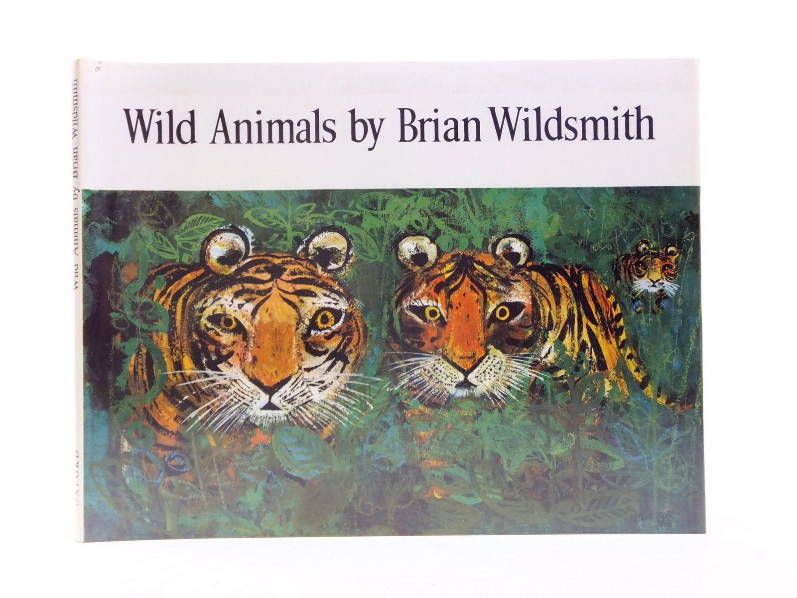 Photo of WILD ANIMALS written by Wildsmith, Brian illustrated by Wildsmith, Brian published by Oxford University Press (STOCK CODE: 1606615)  for sale by Stella & Rose's Books