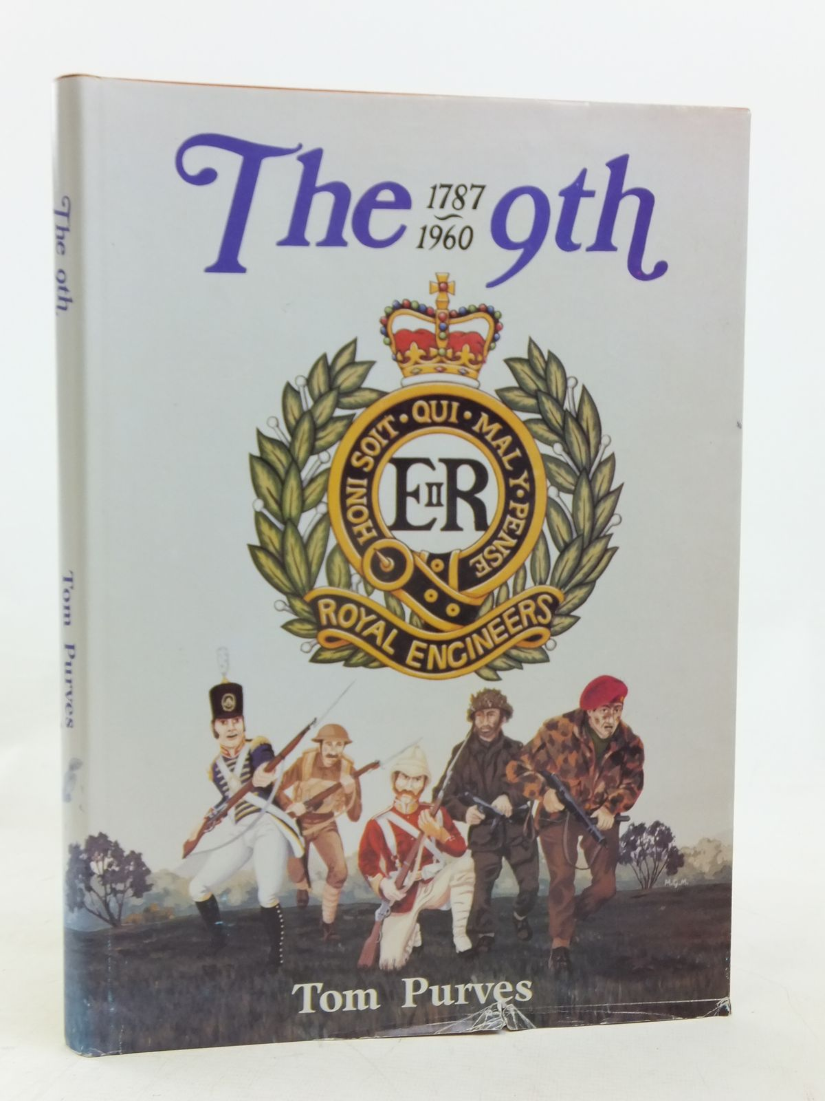 Photo of THE 9TH 1787-1960 THE HISTORY OF THE BRITISH ARMY'S ONLY REMAINING PARACHUTE ENGINEER UNIT written by Purves, Tom published by Tom Purves (STOCK CODE: 1606637)  for sale by Stella & Rose's Books