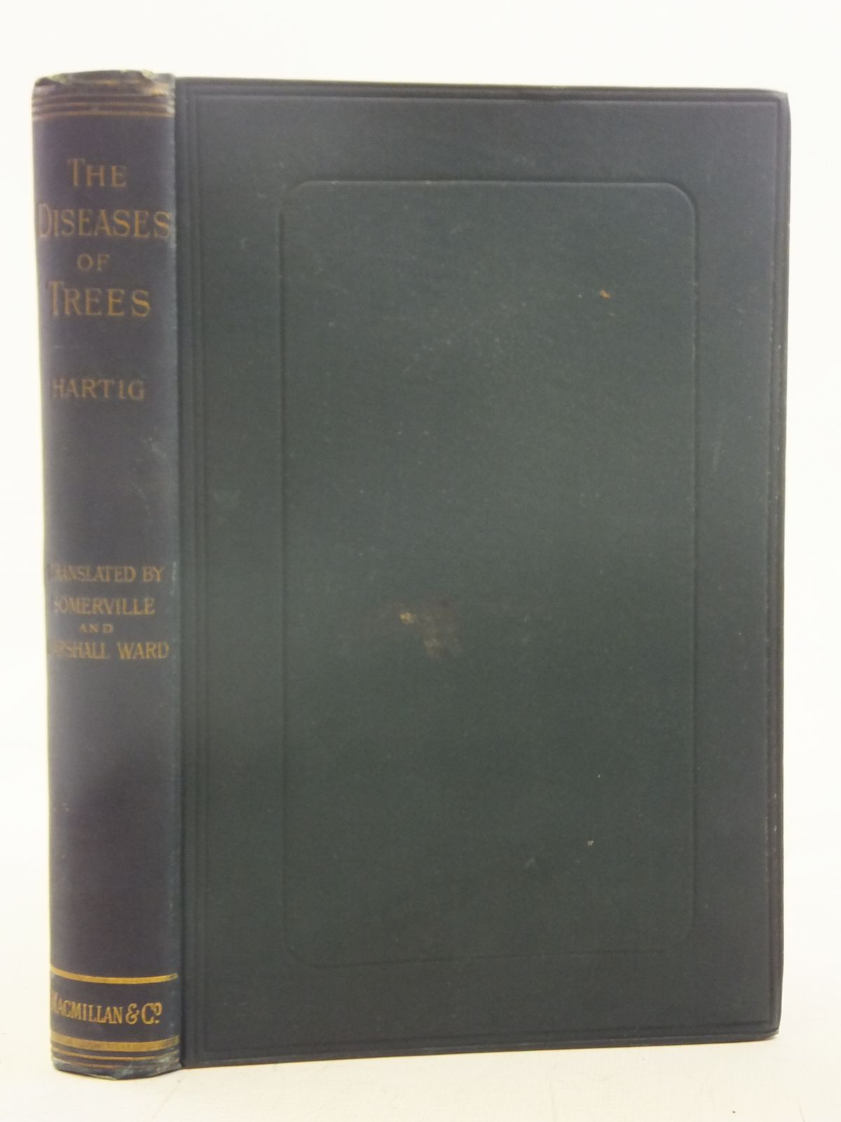 Photo of TEXT-BOOK OF THE DISEASES OF TREES written by Hartig, R<br />Ward, H. Marshall published by Macmillan & Co. (STOCK CODE: 1606800)  for sale by Stella & Rose's Books