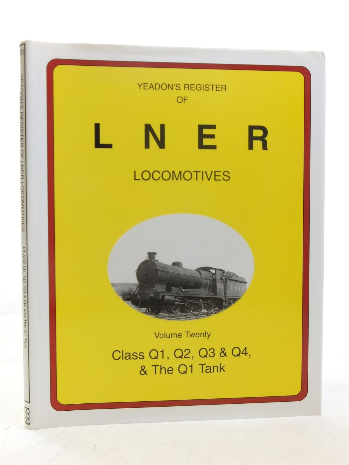 Photo of YEADON'S REGISTER OF LNER LOCOMOTIVES VOLUME TWENTY published by Booklaw Railbus (STOCK CODE: 1606852)  for sale by Stella & Rose's Books