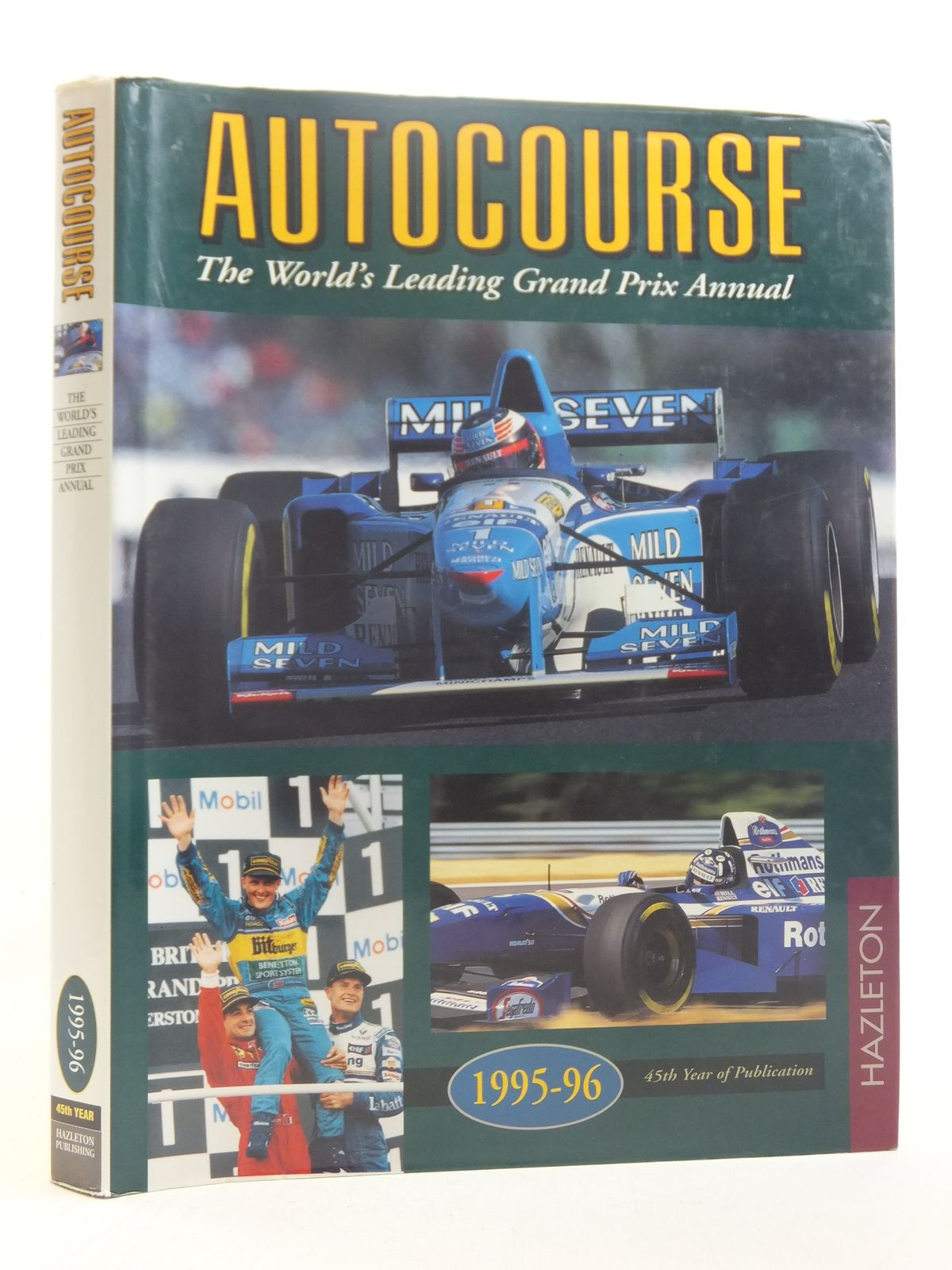 Photo of AUTOCOURSE 1995-1996 published by Hazleton Publishing (STOCK CODE: 1607017)  for sale by Stella & Rose's Books