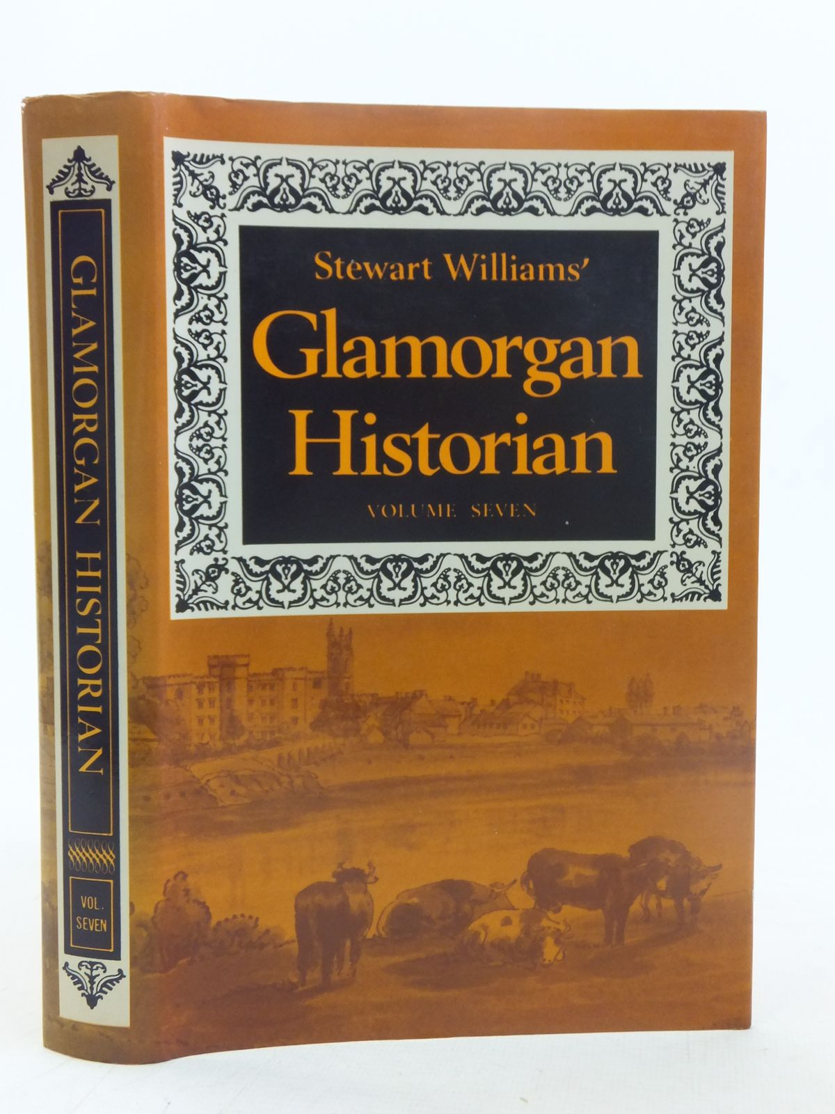 Photo of GLAMORGAN HISTORIAN VOLUME SEVEN written by Williams, Stewart published by D. Brown & Sons Limited (STOCK CODE: 1607063)  for sale by Stella & Rose's Books
