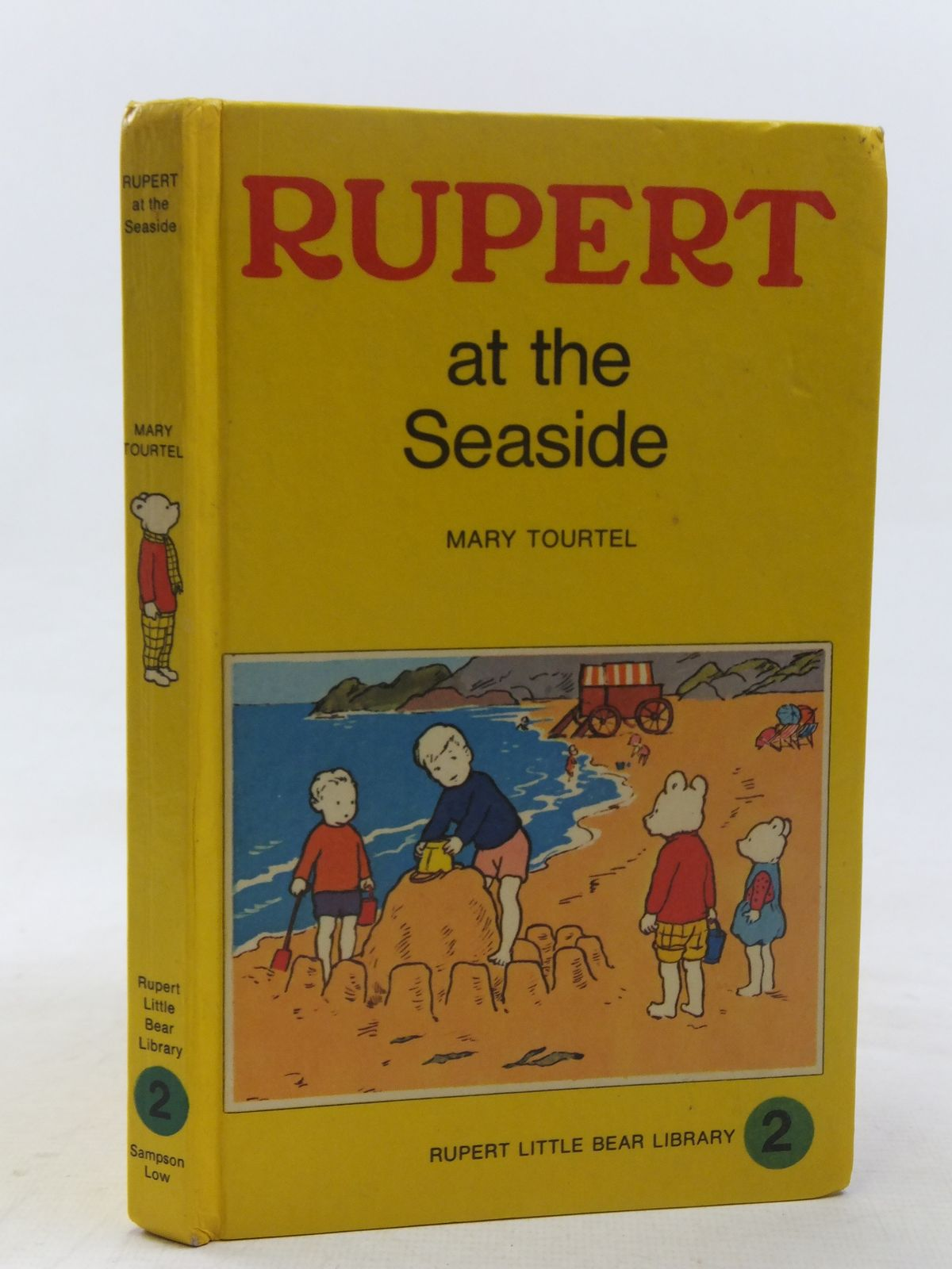 Photo of RUPERT AT THE SEASIDE - RUPERT LITTLE BEAR LIBRARY No. 2 (WOOLWORTH) written by Tourtel, Mary illustrated by Tourtel, Mary published by Sampson Low, Marston & Co. Ltd. (STOCK CODE: 1607080)  for sale by Stella & Rose's Books