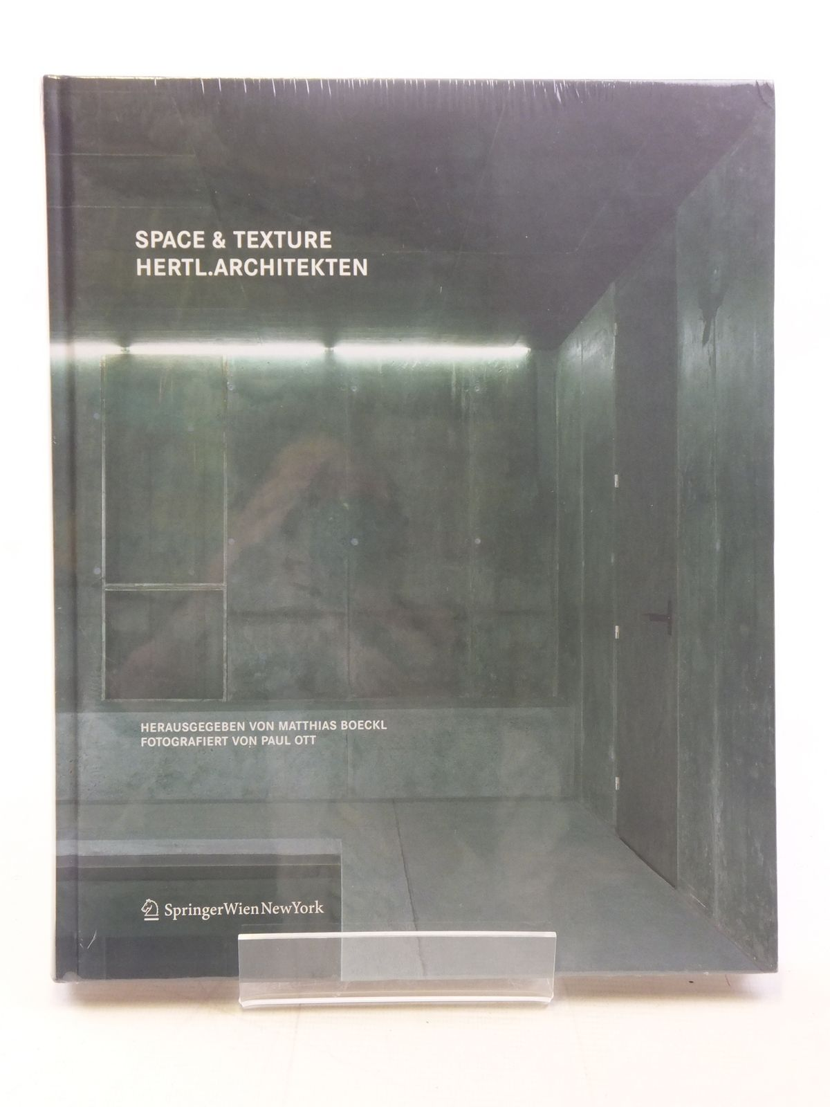 Photo of SPACE & TEXTURE HERTL.ARCHITEKTEN written by Boeckl, Matthias illustrated by Ott, Paul published by Springer (STOCK CODE: 1607163)  for sale by Stella & Rose's Books
