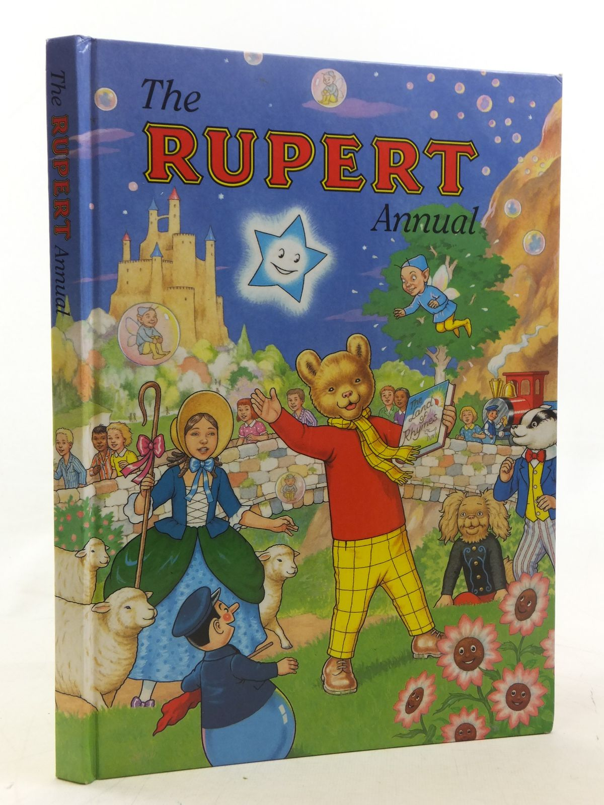 Photo of RUPERT ANNUAL 1996 written by Robinson, Ian illustrated by Harrold, John<br />Hart, Gina published by Pedigree Books Limited (STOCK CODE: 1607223)  for sale by Stella & Rose's Books