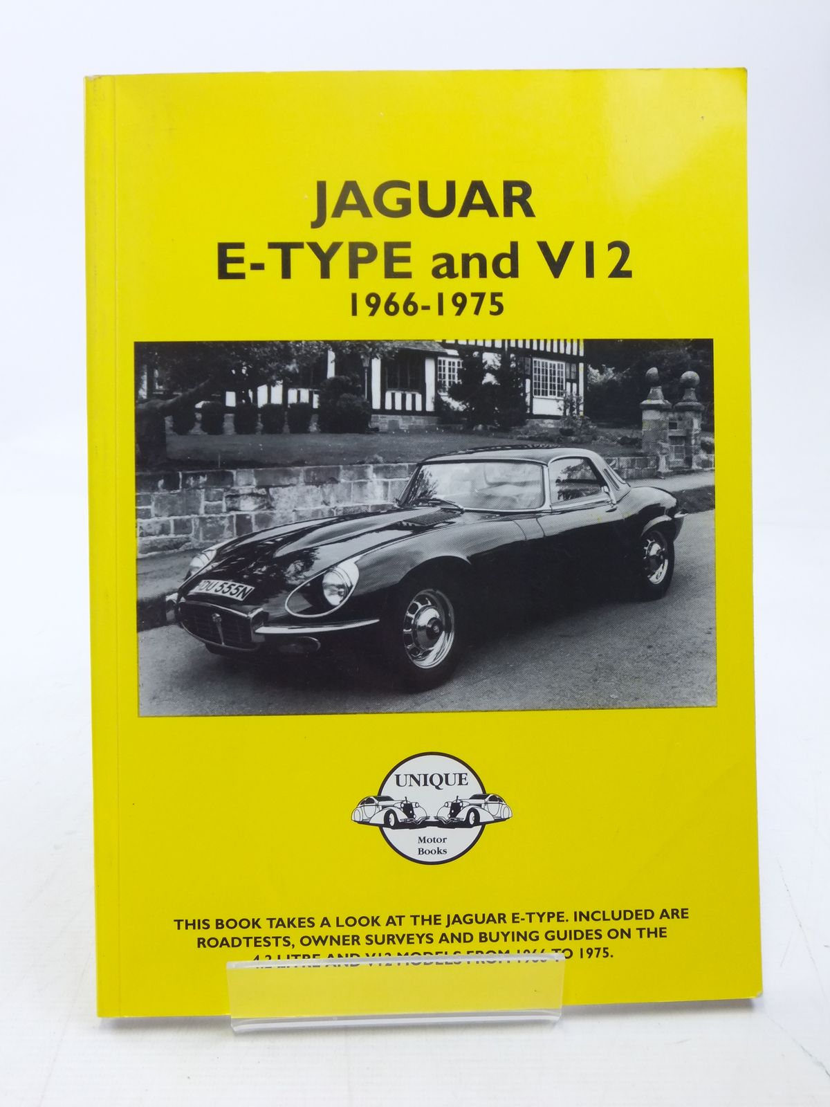 Photo of JAGUAR E-TYPE AND V12 1966-1975 published by Unique Motor Books (STOCK CODE: 1607548)  for sale by Stella & Rose's Books