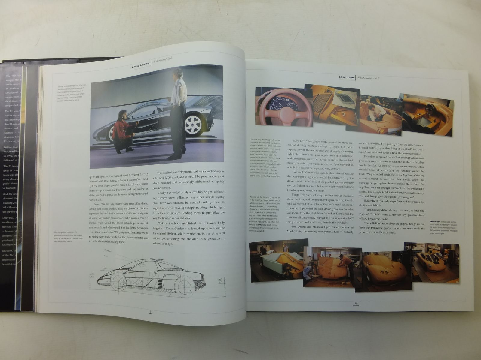 driving ambition the official inside story of the mclaren f1 written
