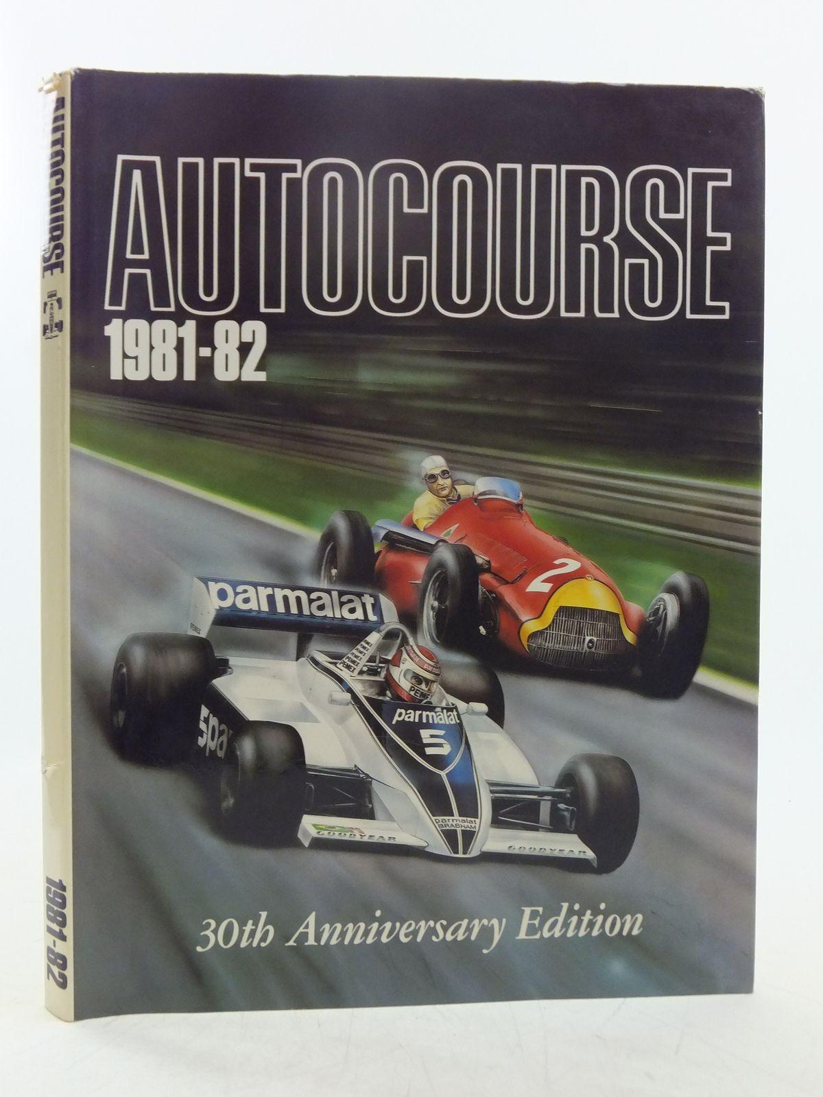 1982-83 Autocourse, The Finest Grand Prix Annual in the World