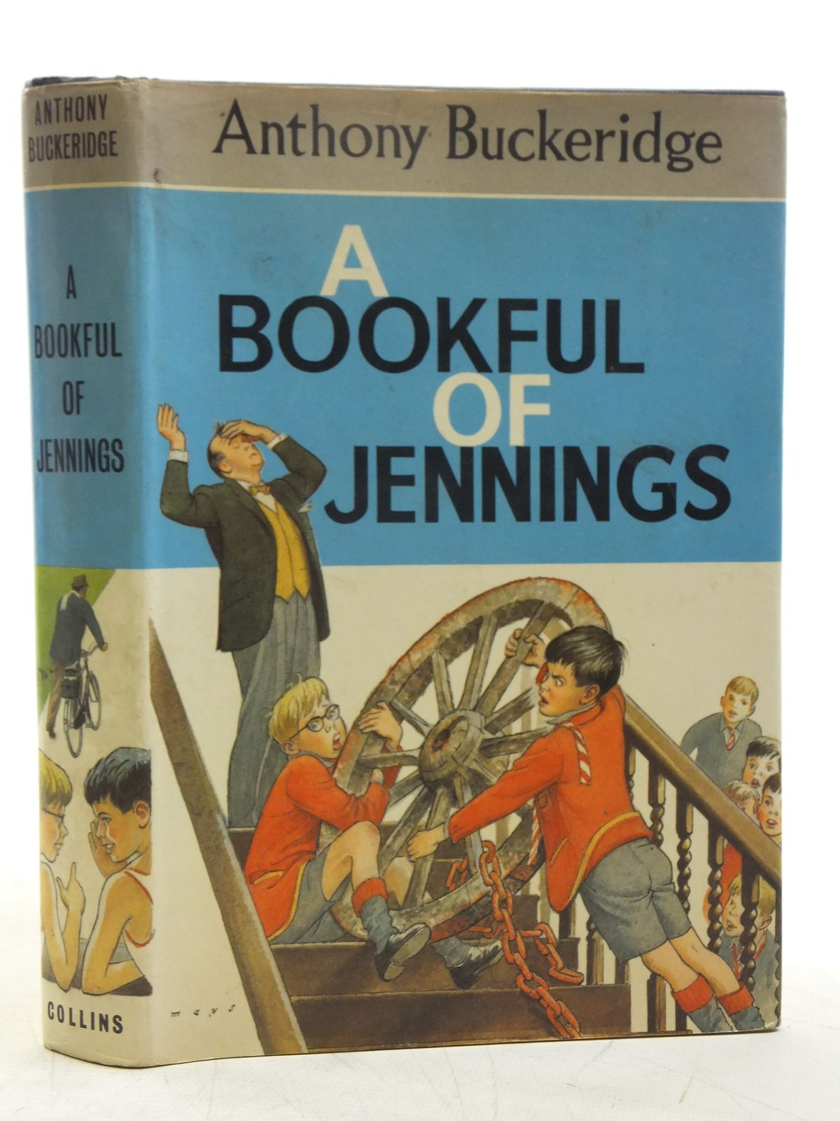 Photo of A BOOKFUL OF JENNINGS written by Buckeridge, Anthony published by Collins (STOCK CODE: 1607713)  for sale by Stella & Rose's Books