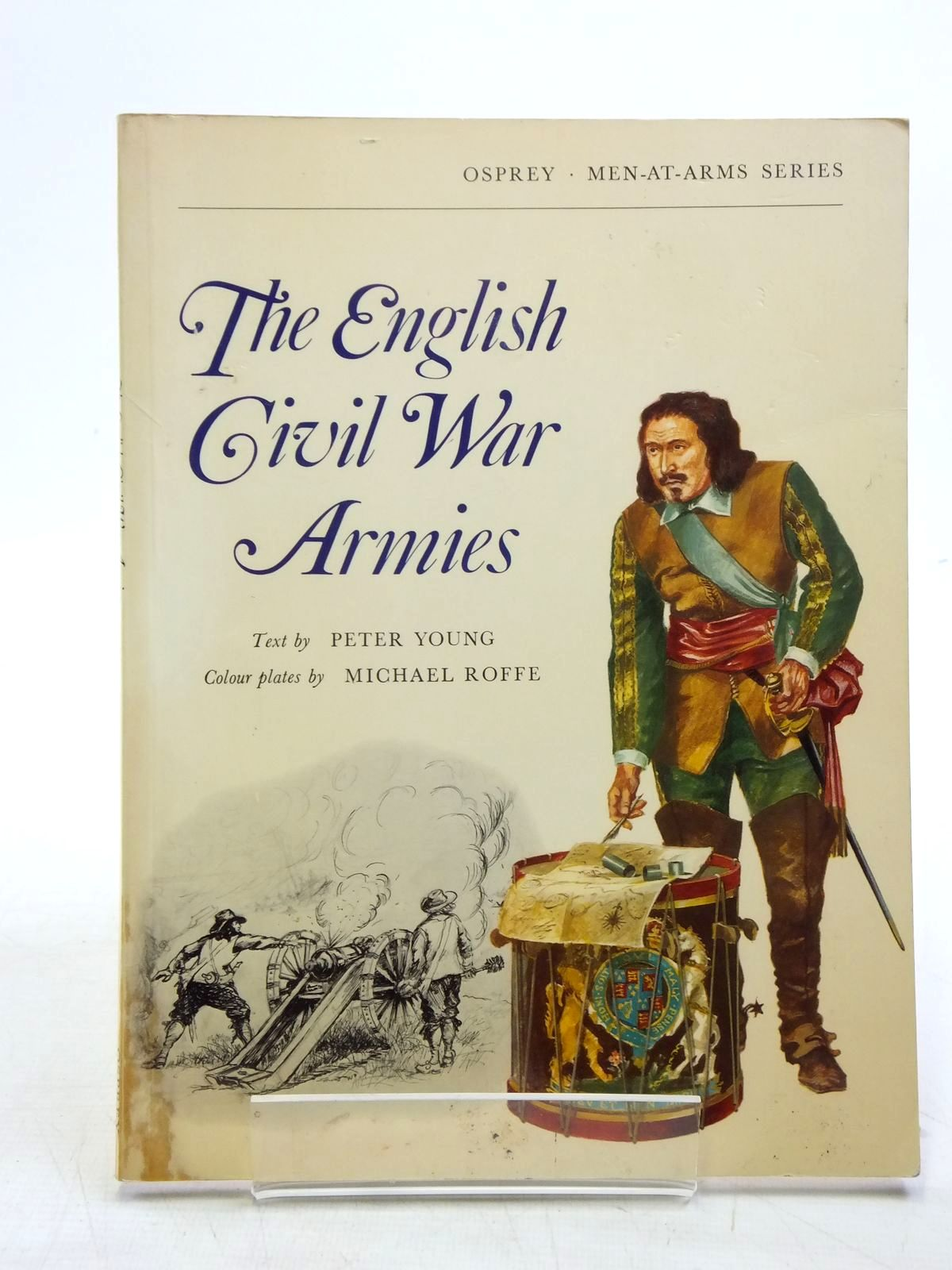 Photo of THE ENGLISH CIVIL WAR ARMIES written by Young, Peter illustrated by Roffe, Michael published by Osprey Publishing (STOCK CODE: 1607714)  for sale by Stella & Rose's Books