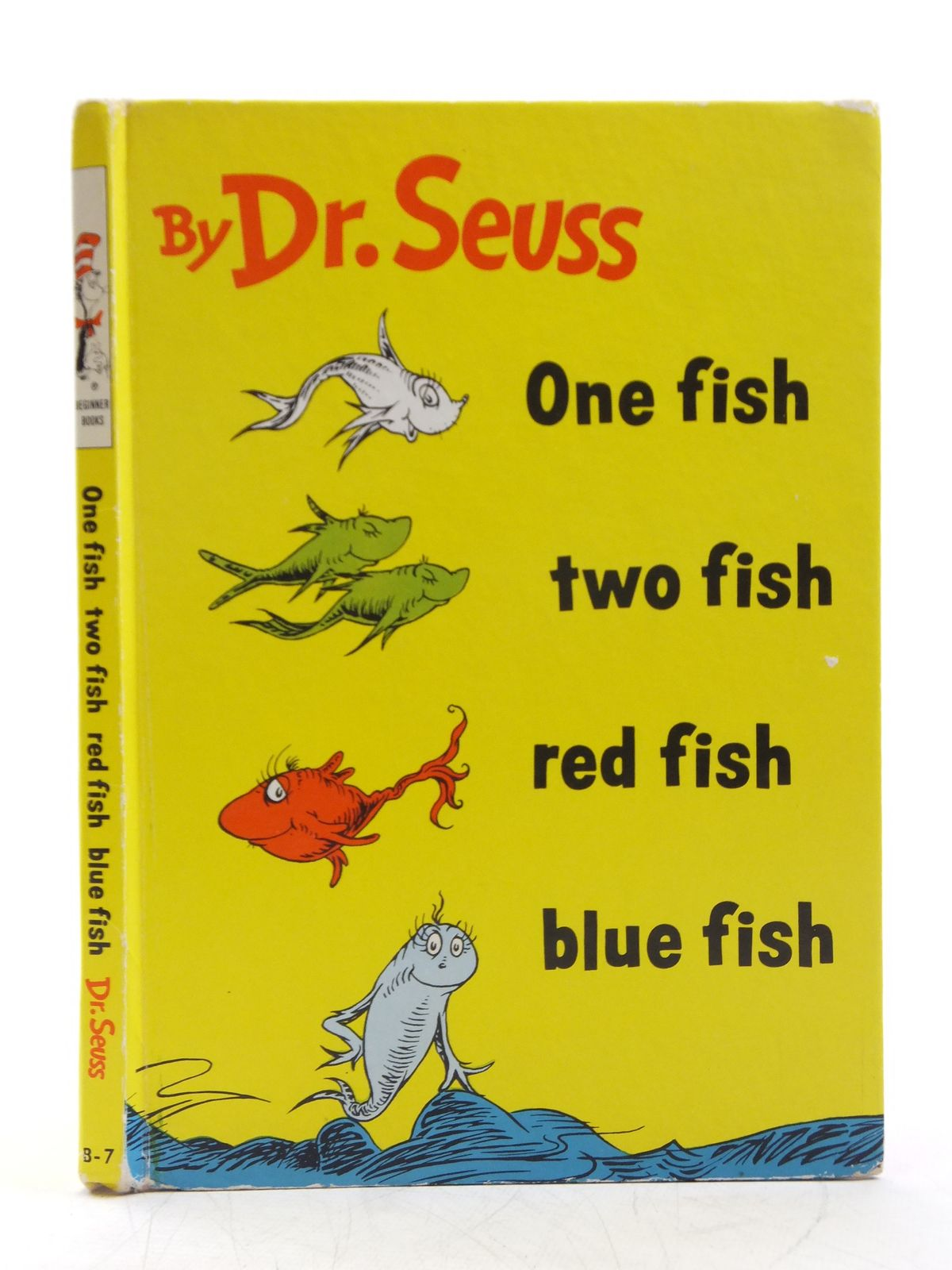 Photo of ONE FISH, TWO FISH, RED FISH, BLUE FISH written by Seuss, Dr. illustrated by Seuss, Dr. published by Random House (STOCK CODE: 1607739)  for sale by Stella & Rose's Books
