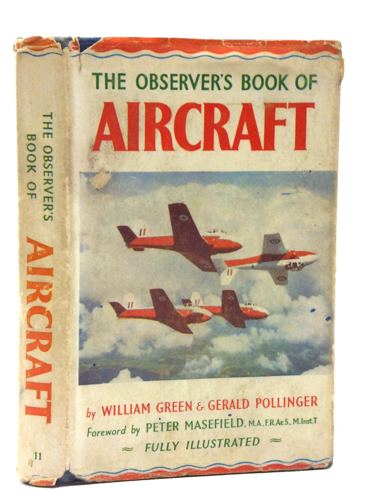 Photo of THE OBSERVER'S BOOK OF AIRCRAFT written by Green, William<br />Pollinger, Gerald published by Frederick Warne & Co Ltd. (STOCK CODE: 1607920)  for sale by Stella & Rose's Books