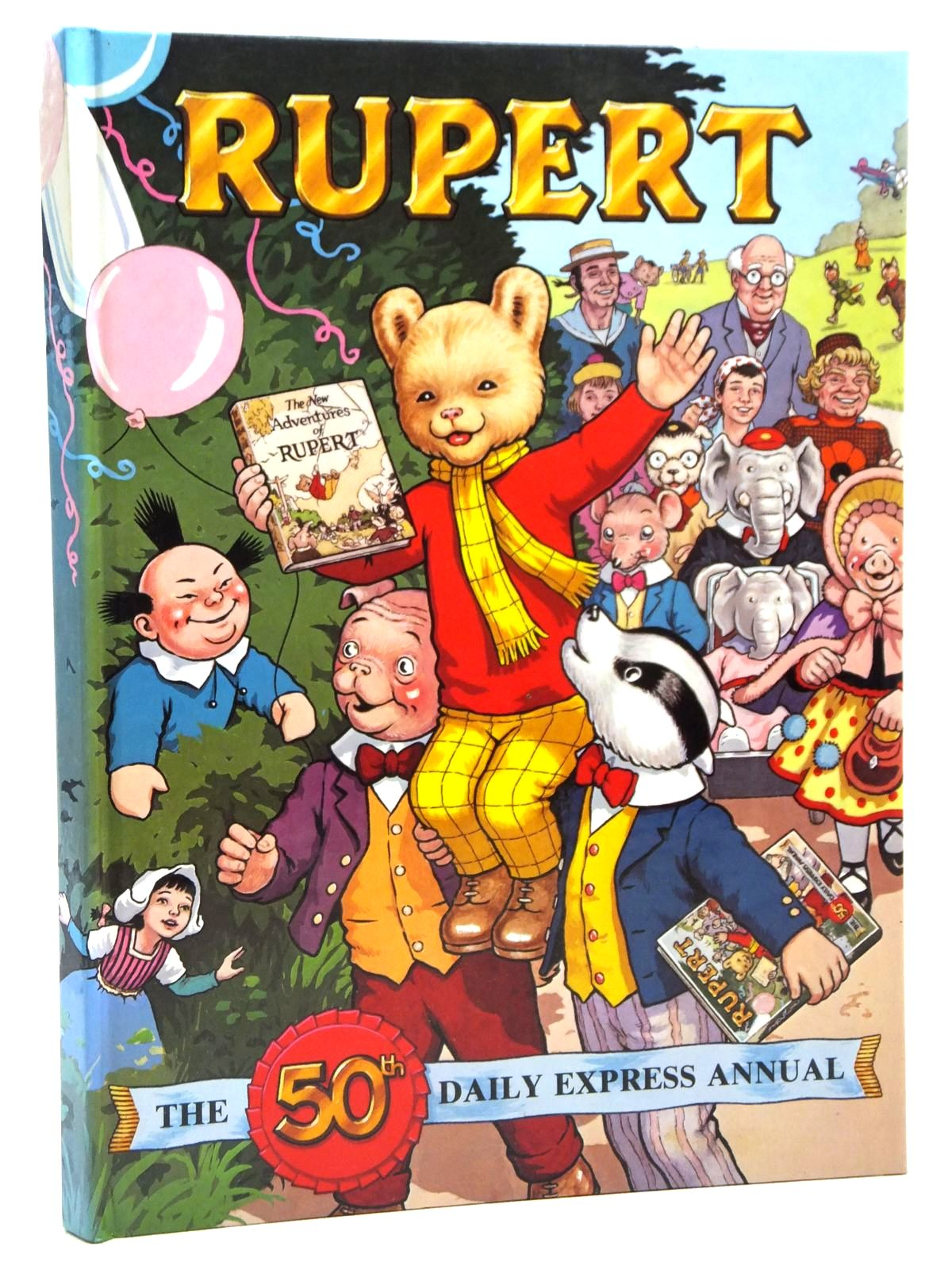 Photo of RUPERT ANNUAL 1985 written by Bestall, Alfred<br />Henderson, James illustrated by Bestall, Alfred<br />Harrold, John published by Express Newspapers Ltd. (STOCK CODE: 1608044)  for sale by Stella & Rose's Books