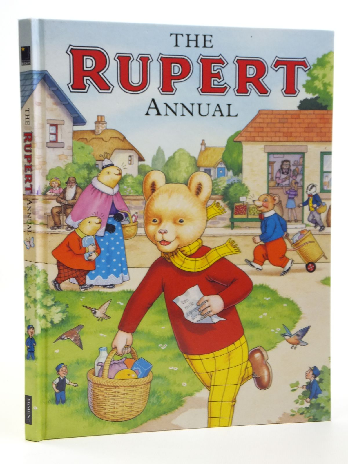 Photo of RUPERT ANNUAL 2007 written by Henderson, James illustrated by Harrold, John published by Egmont Uk Limited (STOCK CODE: 1608046)  for sale by Stella & Rose's Books
