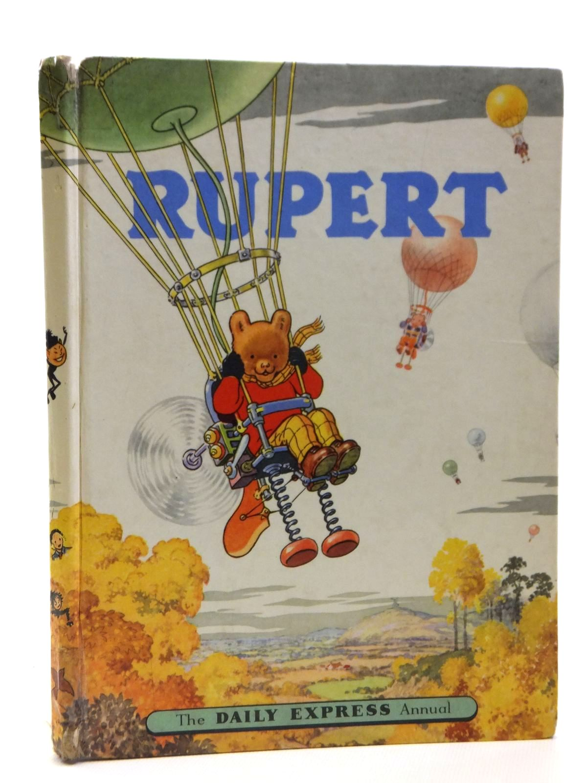 Photo of RUPERT ANNUAL 1957 written by Bestall, Alfred illustrated by Bestall, Alfred published by Daily Express (STOCK CODE: 1608191)  for sale by Stella & Rose's Books