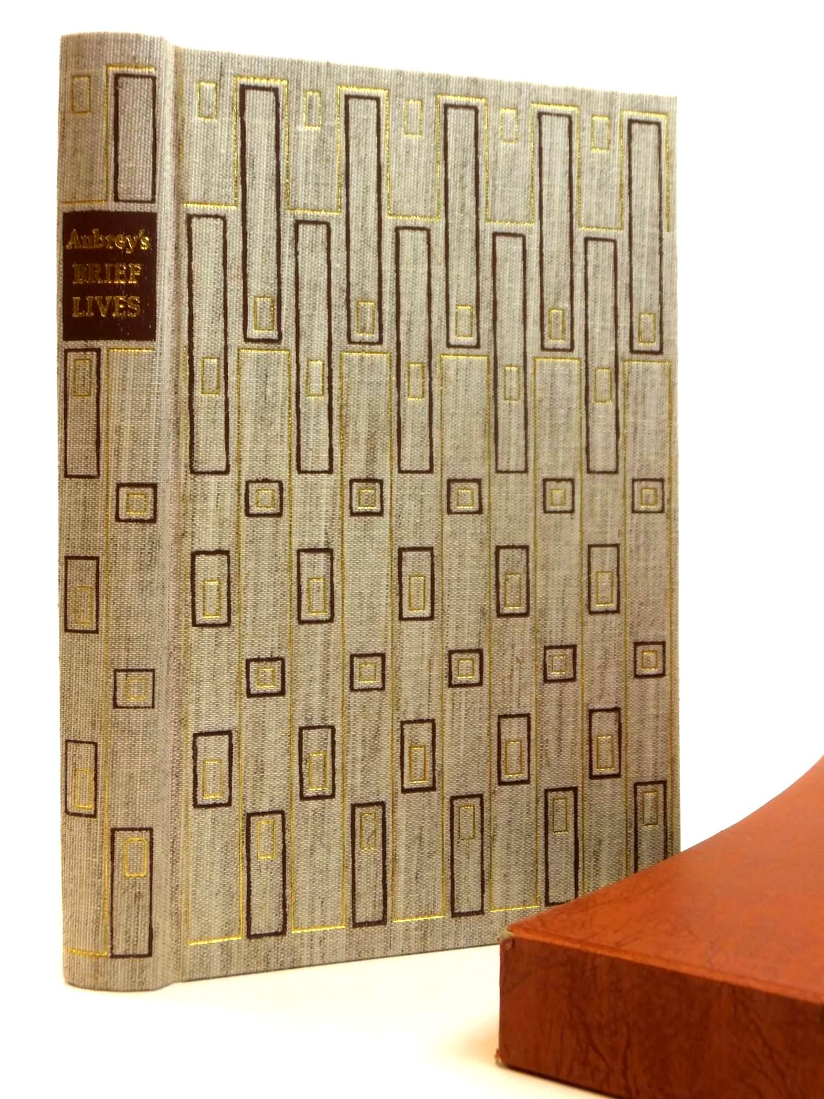 Photo of BRIEF LIVES written by Aubrey, John<br />Barber, Richard published by Folio Society (STOCK CODE: 1608271)  for sale by Stella & Rose's Books