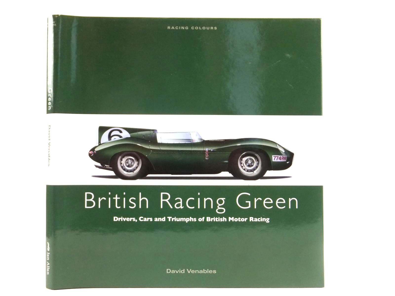 Photo of BRITISH RACING GREEN written by Venables, David published by Ian Allan (STOCK CODE: 1608493)  for sale by Stella & Rose's Books
