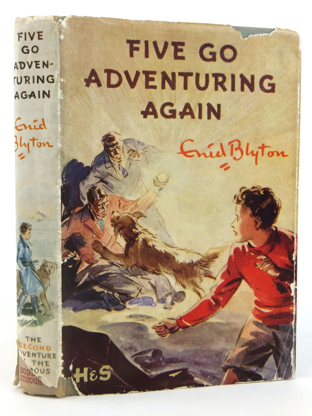 Photo of FIVE GO ADVENTURING AGAIN written by Blyton, Enid illustrated by Soper, Eileen published by Hodder & Stoughton (STOCK CODE: 1608802)  for sale by Stella & Rose's Books