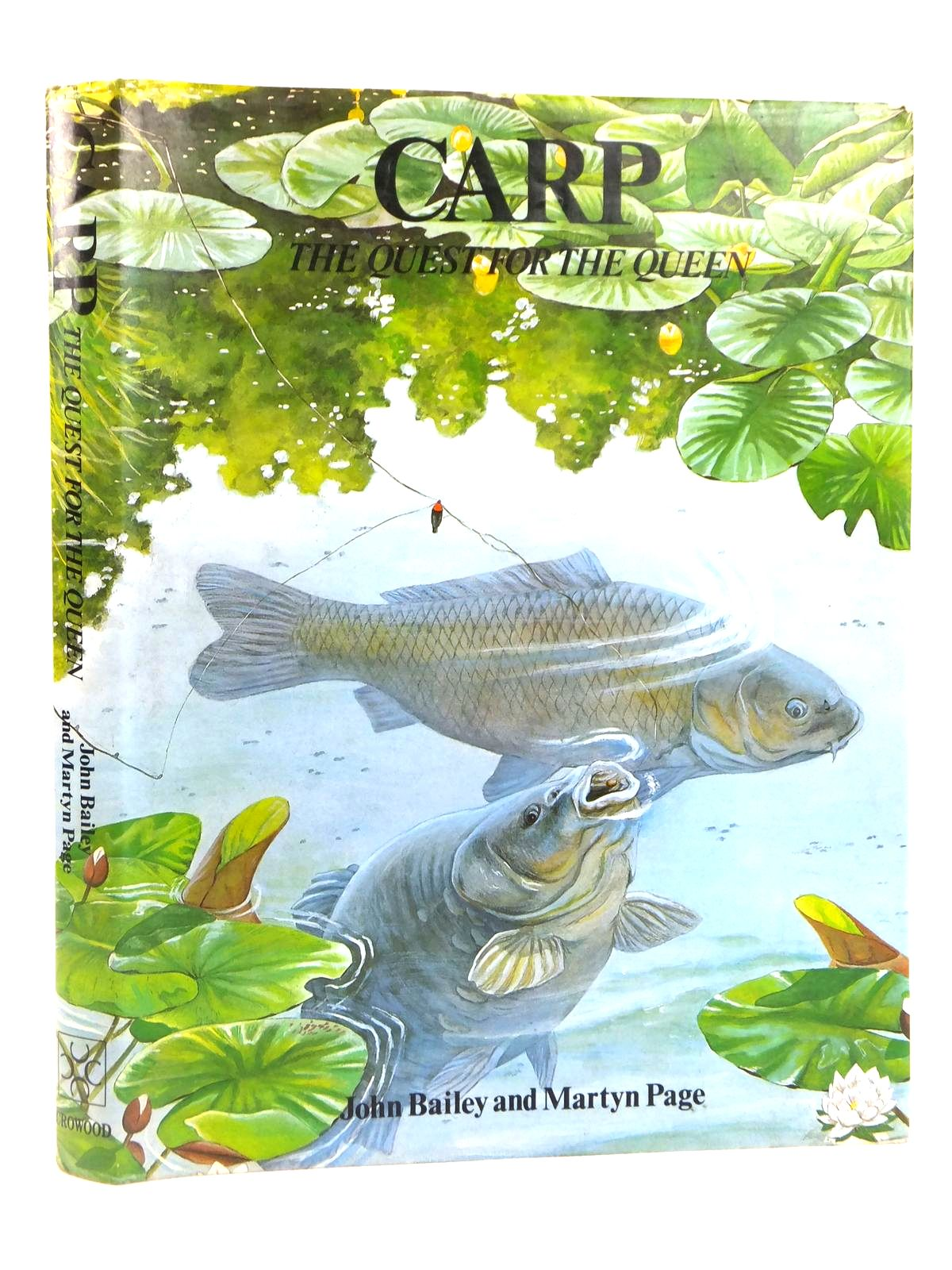 Photo of CARP THE QUEST FOR THE QUEEN written by Bailey, John<br />Page, Martyn published by The Crowood Press (STOCK CODE: 1608867)  for sale by Stella & Rose's Books