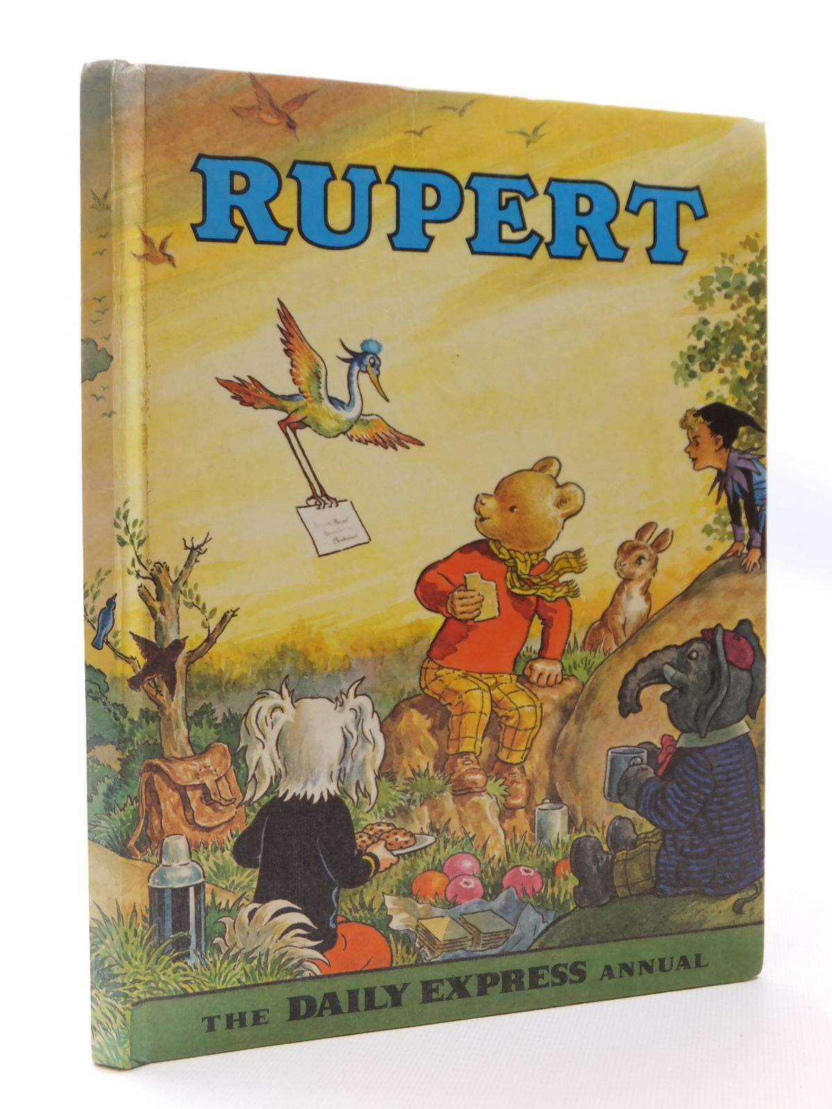 Photo of RUPERT ANNUAL 1972 written by Bestall, Alfred illustrated by Bestall, Alfred published by Daily Express (STOCK CODE: 1608912)  for sale by Stella & Rose's Books