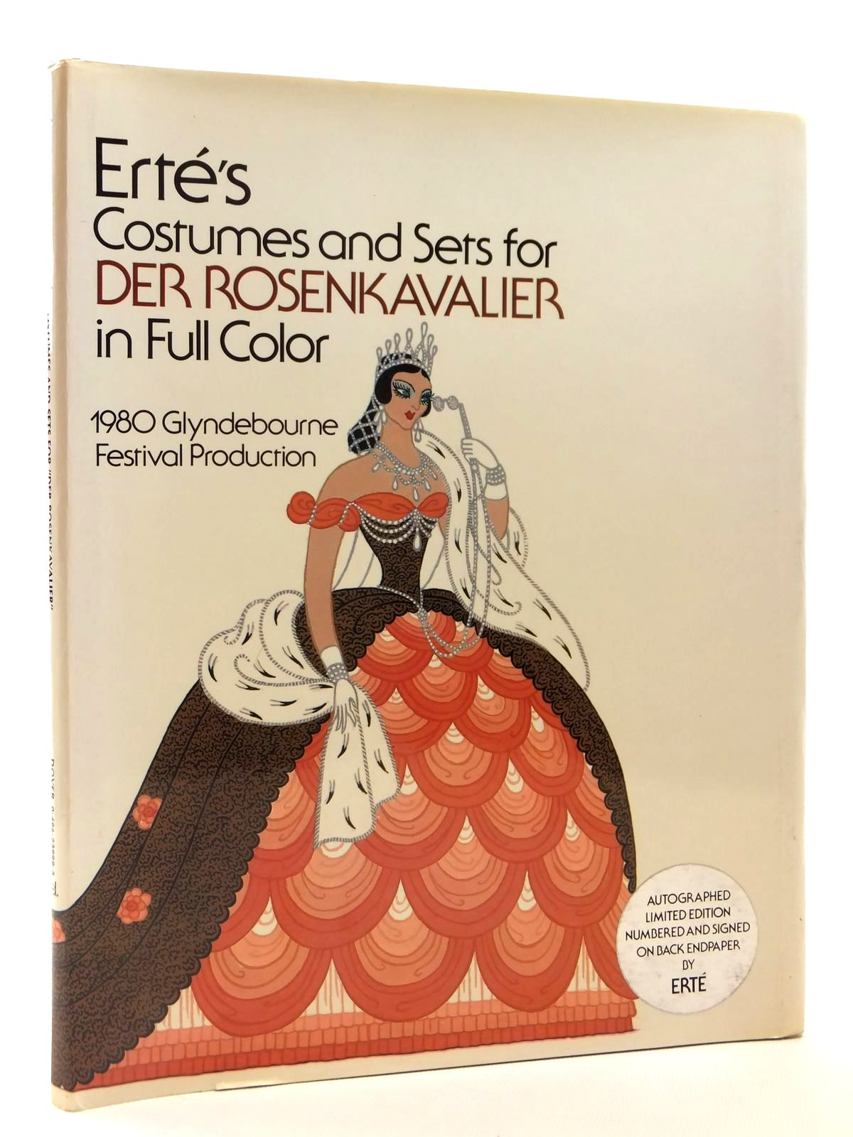 Photo of ERTE'S COSTUMES & SETS FOR DER ROSENKAVALIER IN FULL COLOUR written by Cox, John published by Dover Publications Inc. (STOCK CODE: 1608931)  for sale by Stella & Rose's Books