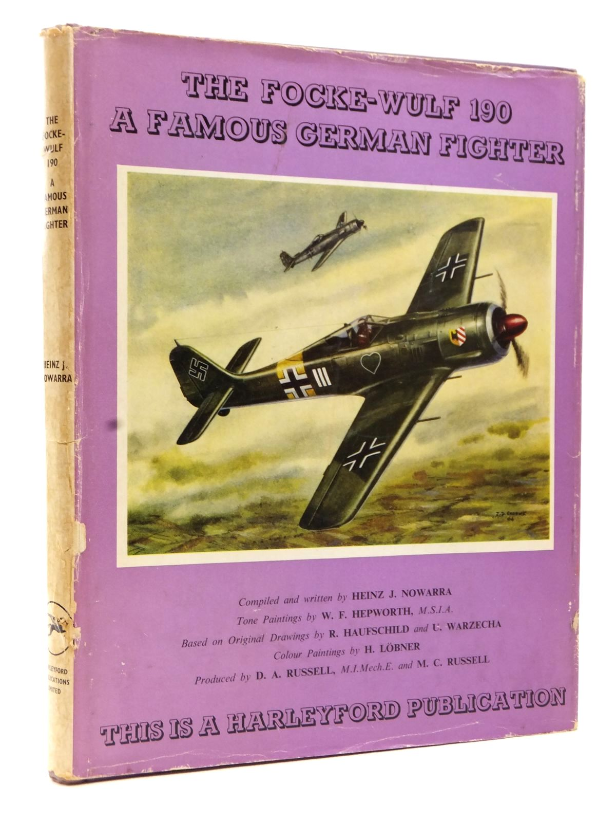 Photo of THE FOCKE-WULF 190 A FAMOUS GERMAN FIGHTER written by Nowarra, Heinz J. illustrated by Hepworth, W.F. published by Harleyford Publications Limited (STOCK CODE: 1608943)  for sale by Stella & Rose's Books