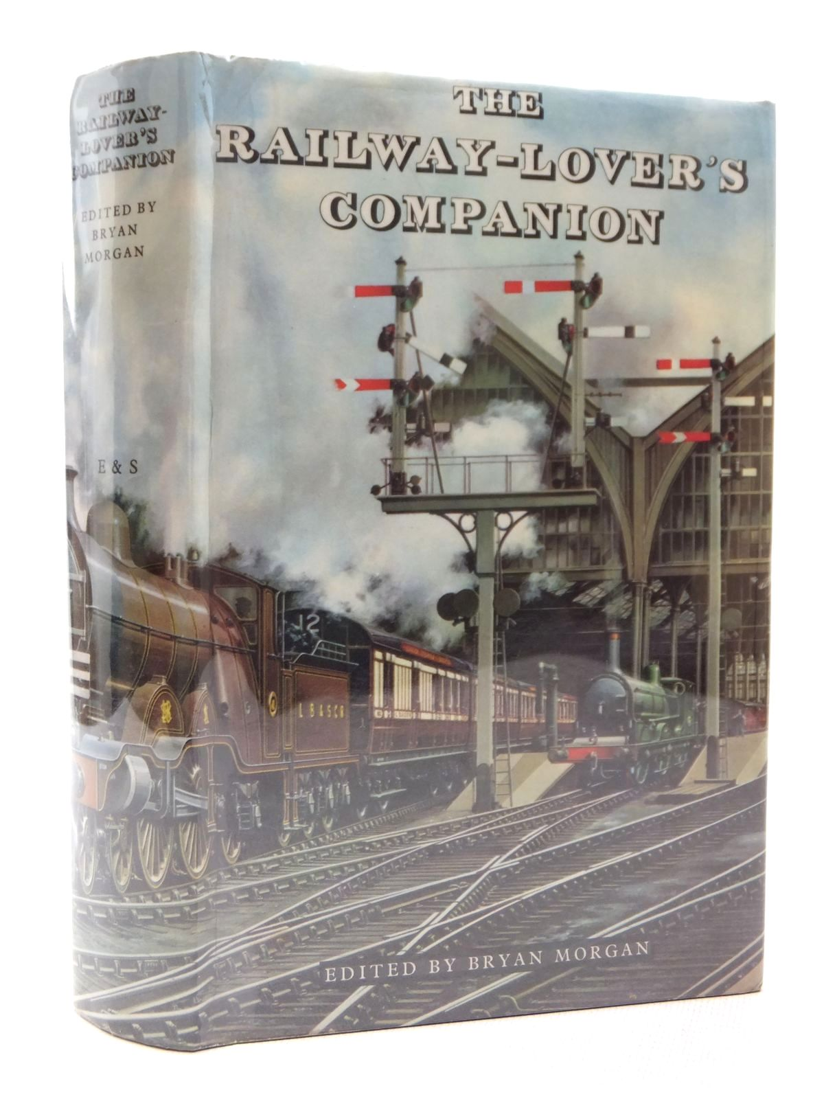 Photo of THE RAILWAY-LOVER'S COMPANION written by Morgan, Bryan published by Eyre & Spottiswoode (STOCK CODE: 1609046)  for sale by Stella & Rose's Books