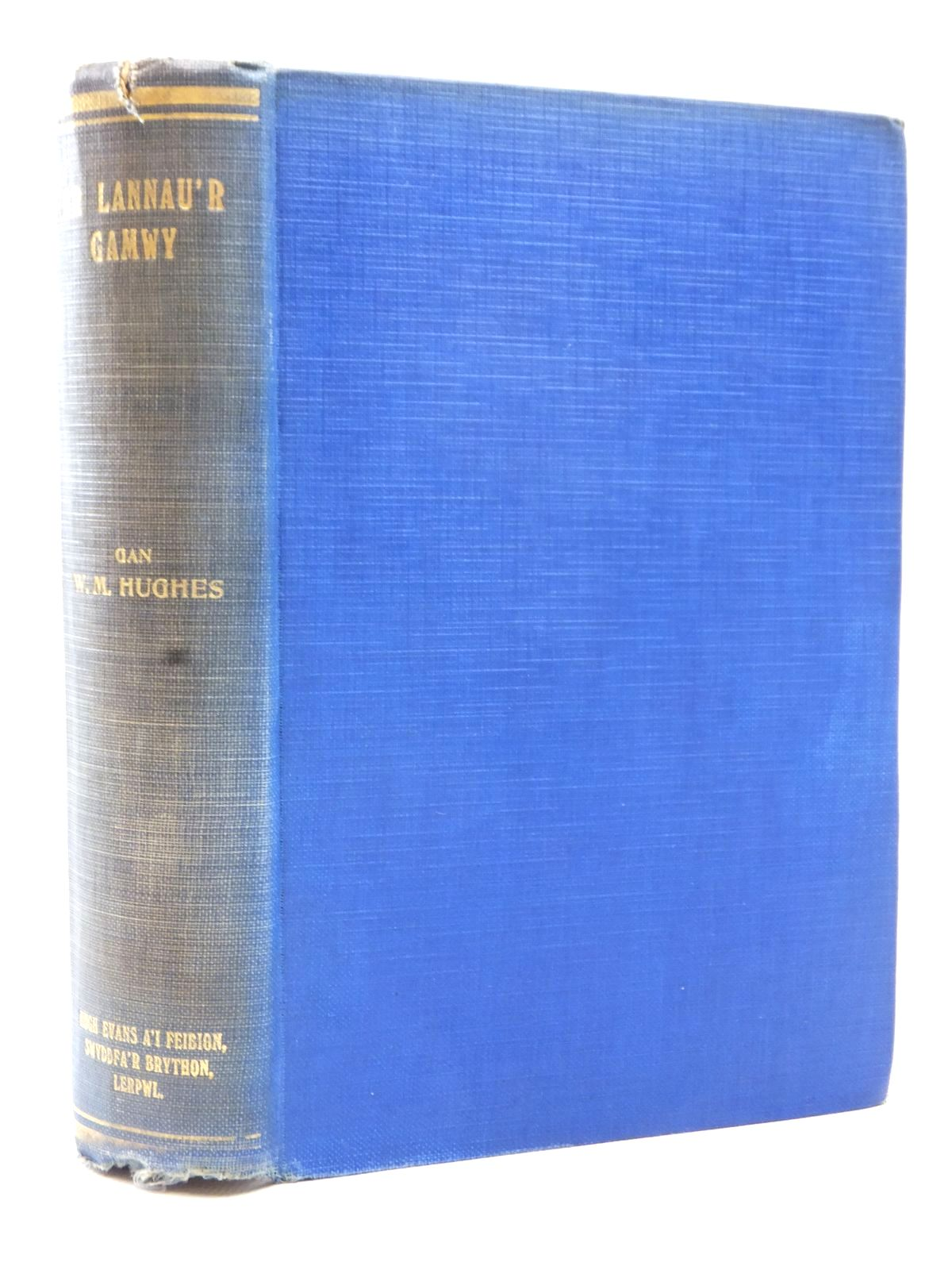 Photo of AR LANNAU'R GAMWY YM MHATAGONIA written by Hughes, W.M. published by Hugh Evans (STOCK CODE: 1609051)  for sale by Stella & Rose's Books