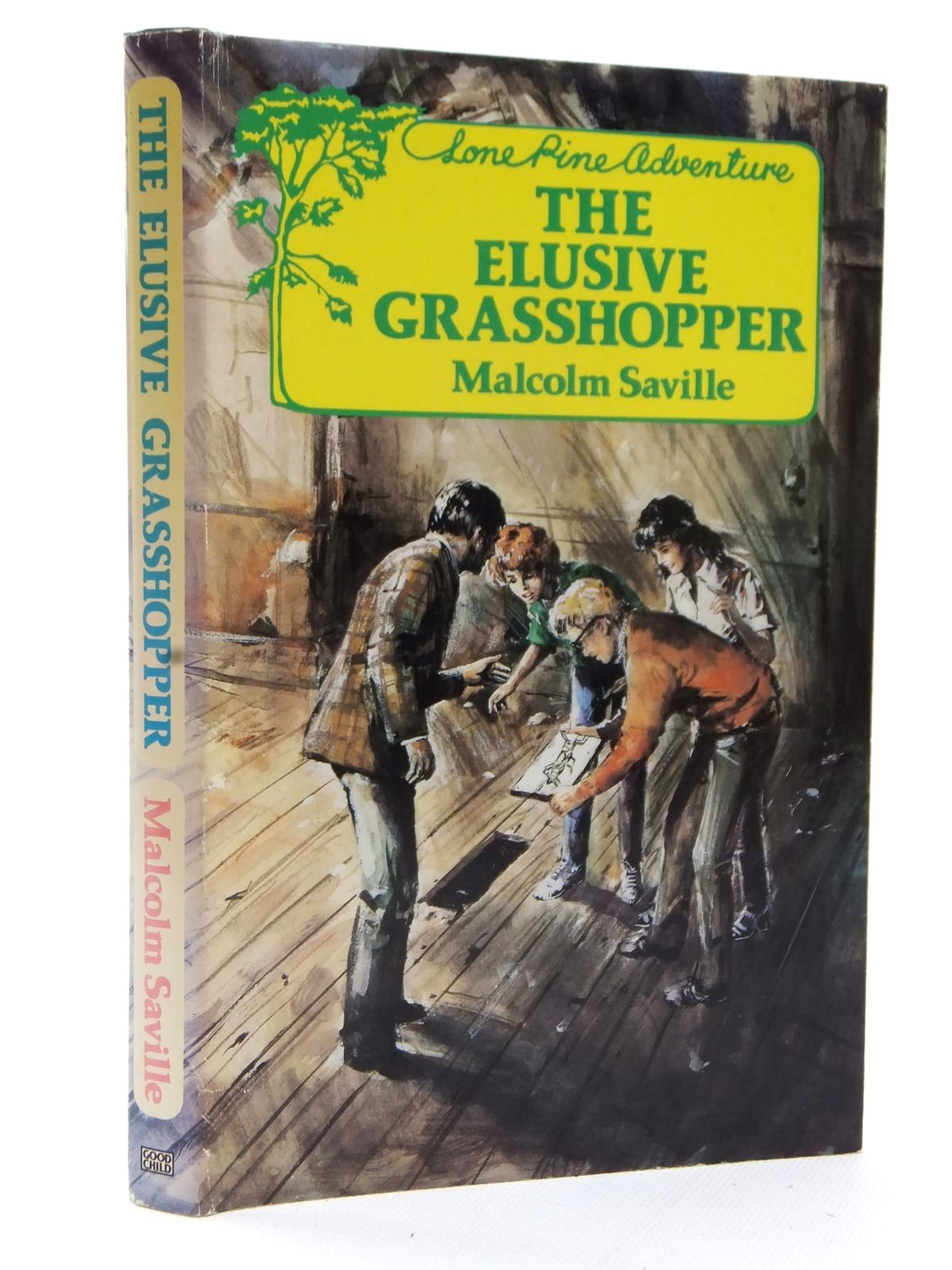 Photo of THE ELUSIVE GRASSHOPPER written by Saville, Malcolm published by John Goodchild (STOCK CODE: 1609066)  for sale by Stella & Rose's Books
