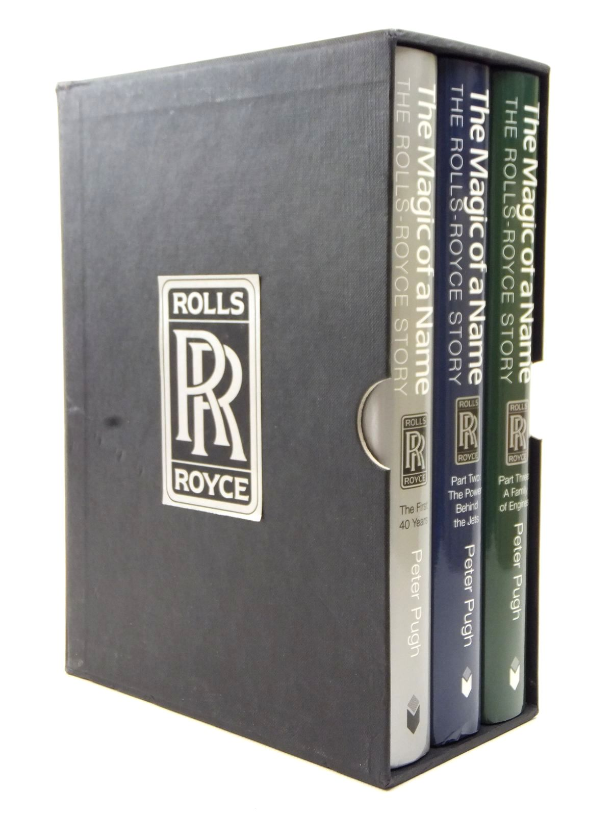 The Magic Of A Name: The Rolls-royce Story 3 Volumes