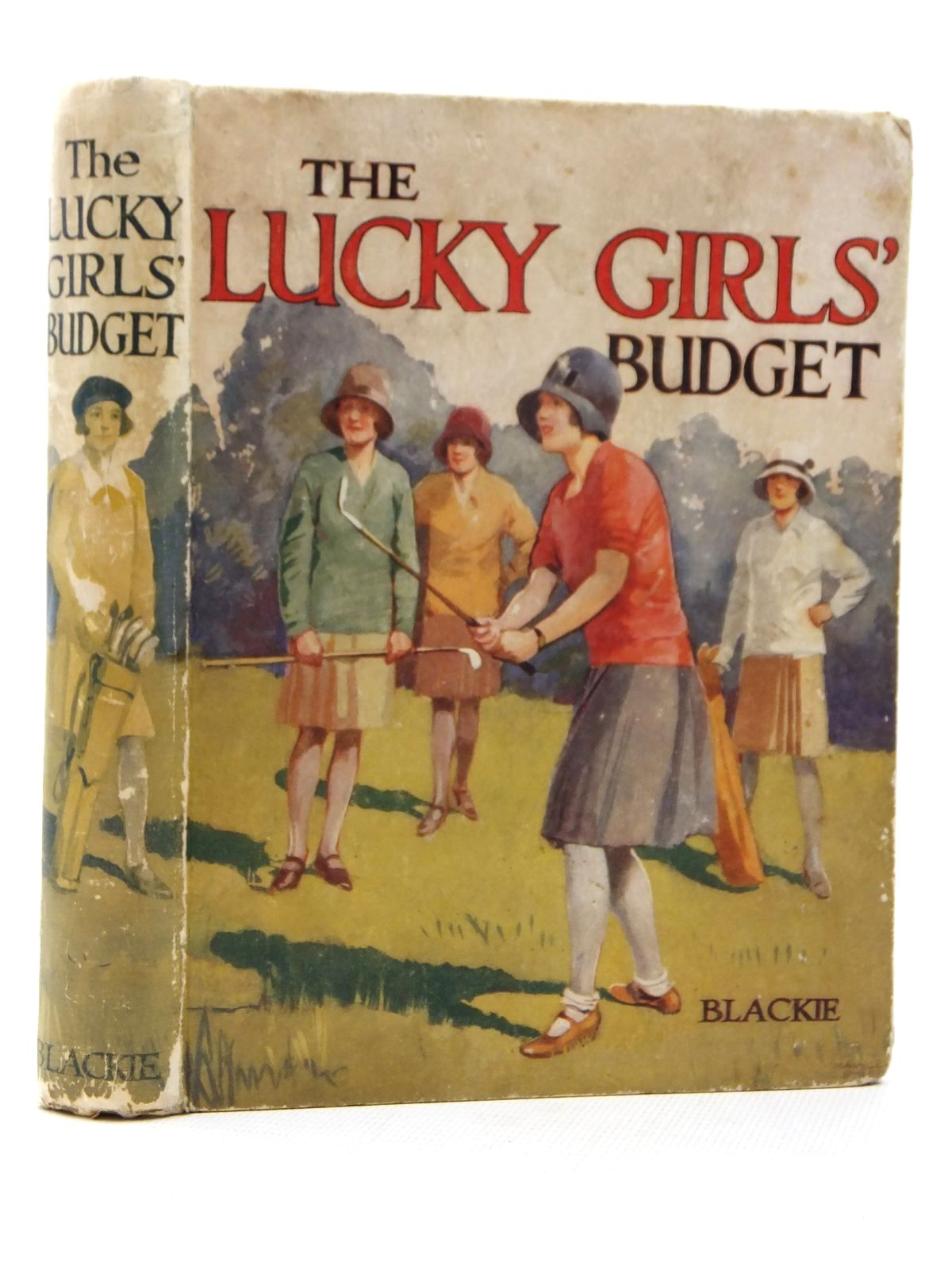 Photo of THE LUCKY GIRLS' BUDGET written by Carloss, F. Fraser<br />Milne, J.P.<br />et al,  published by Blackie & Son Ltd. (STOCK CODE: 1609203)  for sale by Stella & Rose's Books