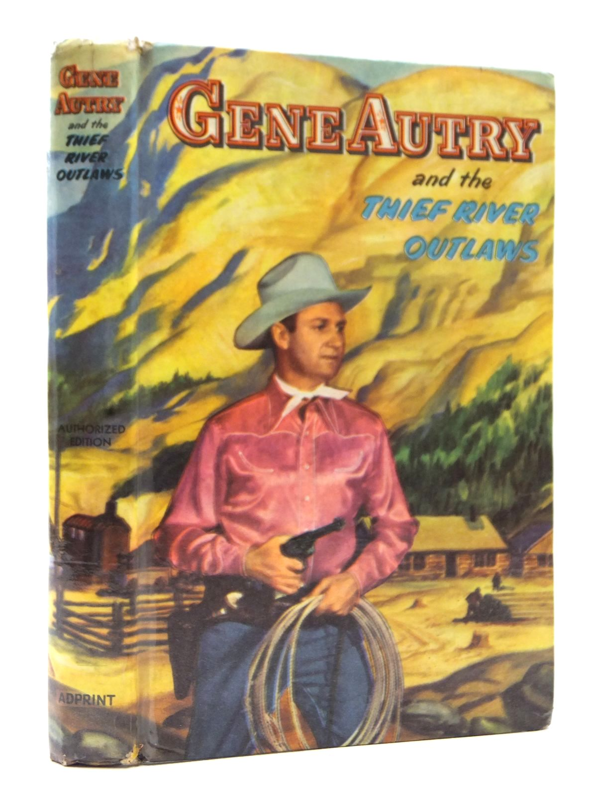 Photo of GENE AUTRY AND THE THIEF RIVER OUTLAWS written by Hamilton, Bob illustrated by Muller, Dan published by Adprint Ltd. (STOCK CODE: 1609204)  for sale by Stella & Rose's Books