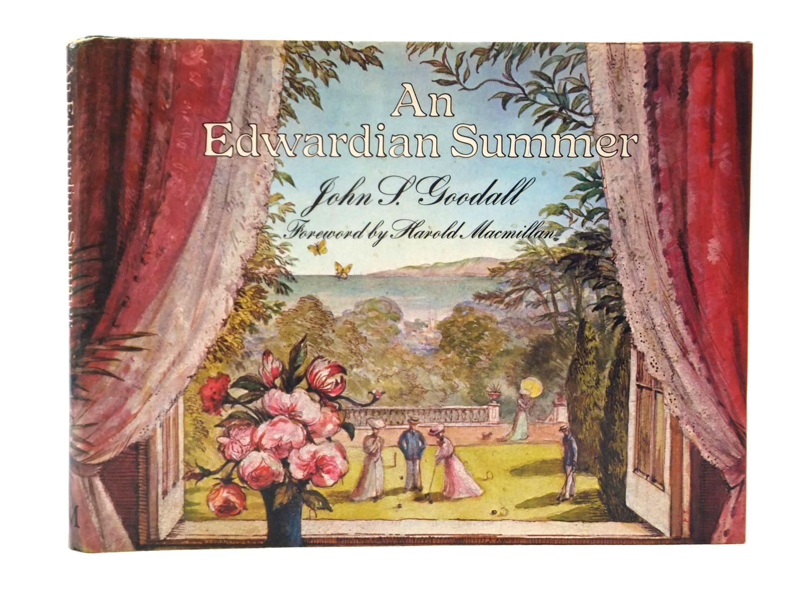 Photo of AN EDWARDIAN SUMMER written by Goodall, John S. illustrated by Goodall, John S. published by Macmillan London Limited (STOCK CODE: 1609207)  for sale by Stella & Rose's Books