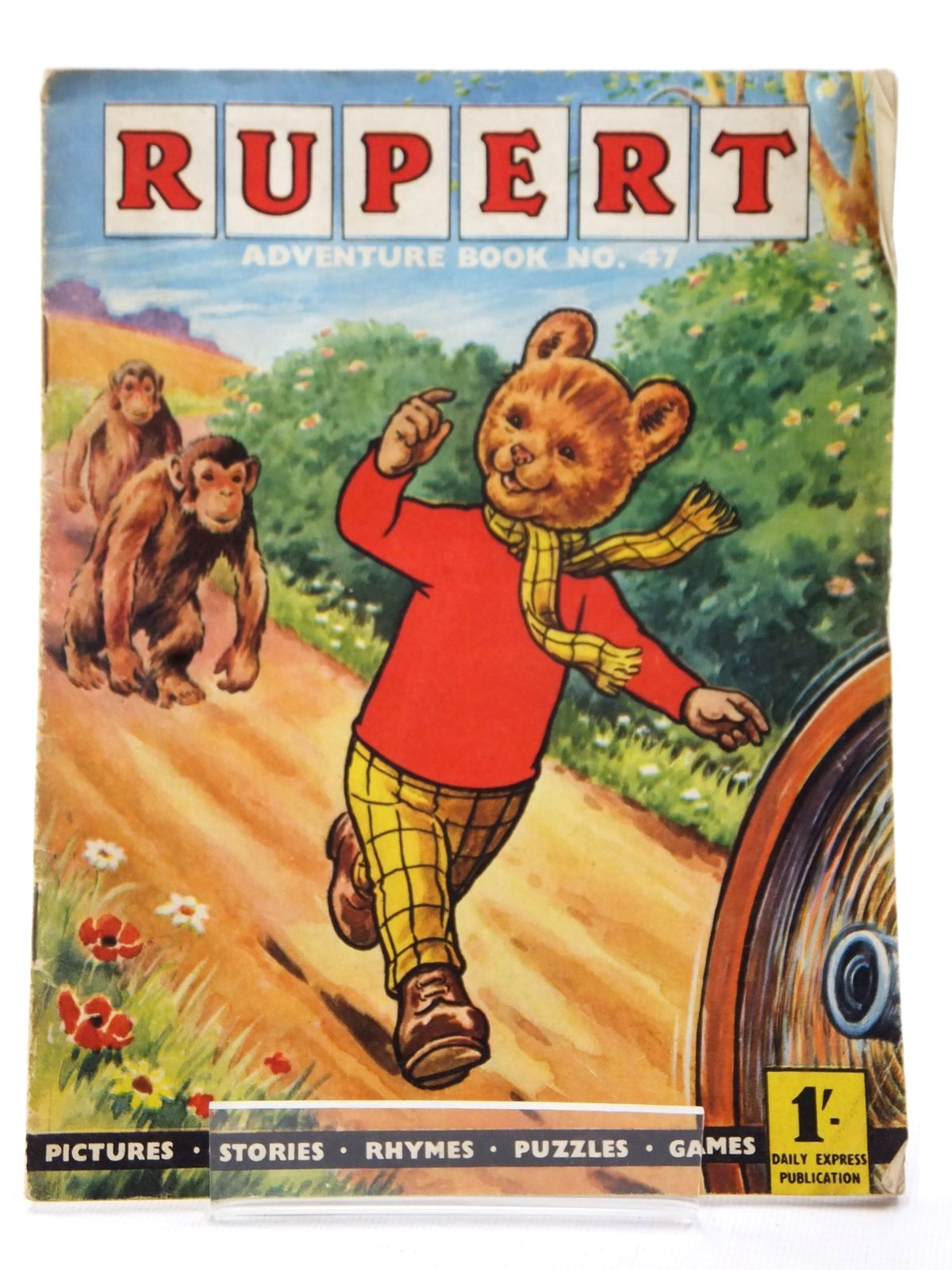 Photo of RUPERT ADVENTURE BOOK No. 47 written by Bestall, Alfred published by Daily Express (STOCK CODE: 1609213)  for sale by Stella & Rose's Books