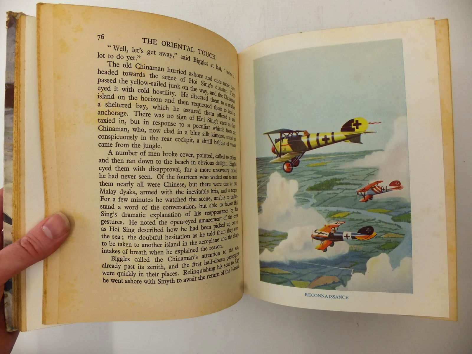 Photo of ACE HIGH written by Johns, W.E.<br />Rochester, George E.<br />et al,  illustrated by Bradshaw, Stanley Orton<br />et al.,  published by The Ace Publishing Company (STOCK CODE: 1609227)  for sale by Stella & Rose's Books
