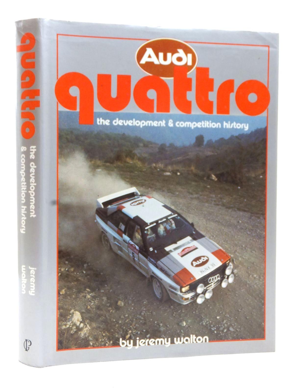 Audi Quattro The Development & Competition History