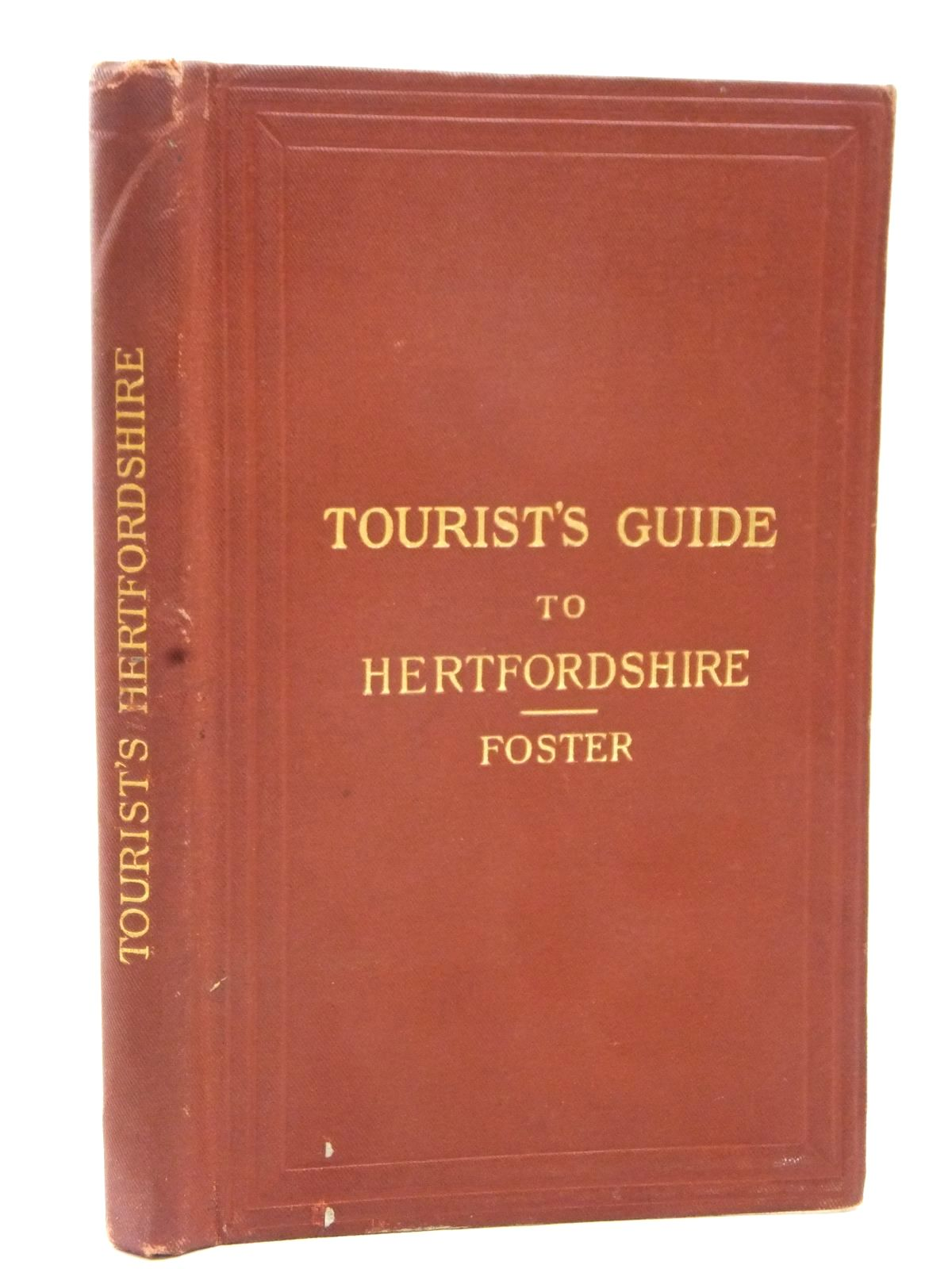 Photo of TOURIST'S GUIDE TO HERTFORDSHIRE written by Foster, A.J. published by Edward Stanford (STOCK CODE: 1609448)  for sale by Stella & Rose's Books