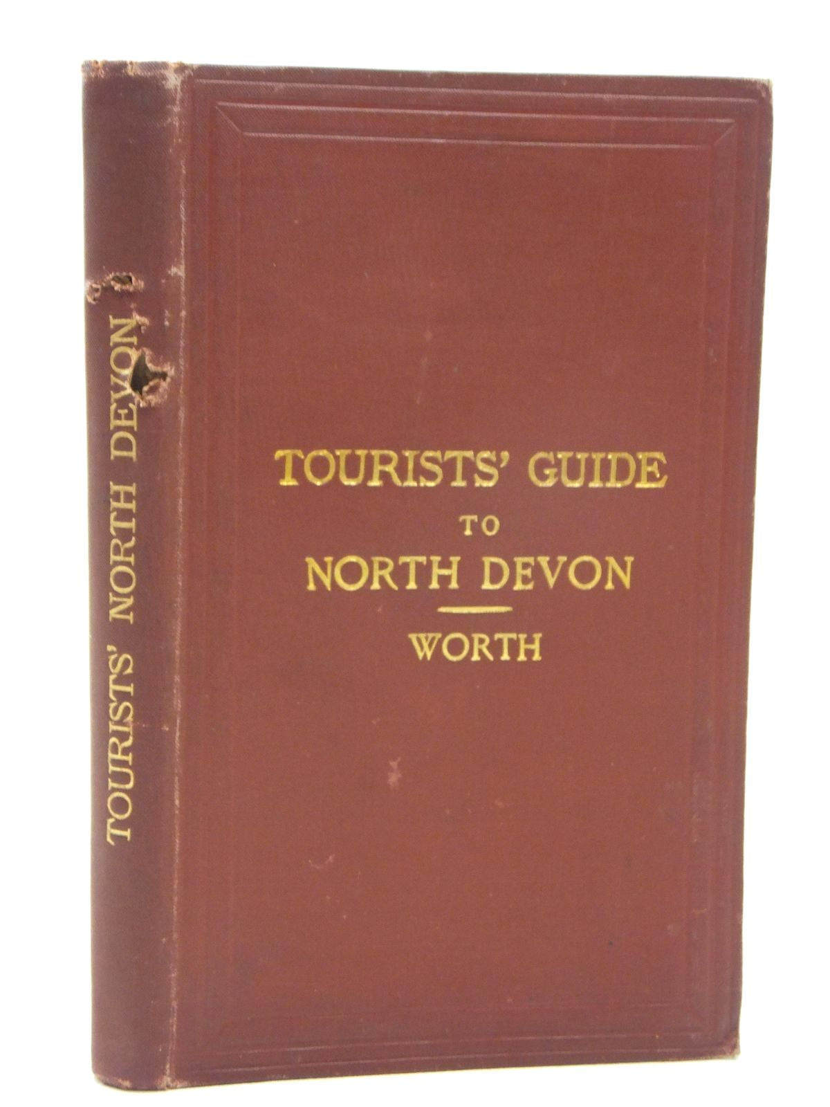Photo of TOURIST'S GUIDE TO NORTH DEVON written by Worth, R.N. published by Edward Stanford (STOCK CODE: 1609473)  for sale by Stella & Rose's Books