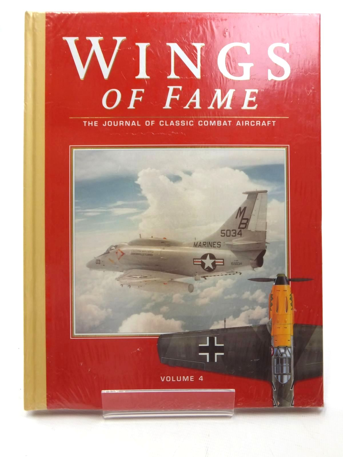 Photo of WINGS OF FAME VOLUME 4 published by Aerospace (STOCK CODE: 1609494)  for sale by Stella & Rose's Books