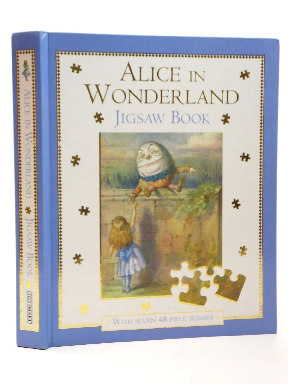 Photo of ALICE IN WONDERLAND JIGSAW BOOK written by Carroll, Lewis illustrated by Tenniel, John<br />Theaker, Harry<br />Wallis, Diz published by The Book People Ltd. (STOCK CODE: 1609548)  for sale by Stella & Rose's Books