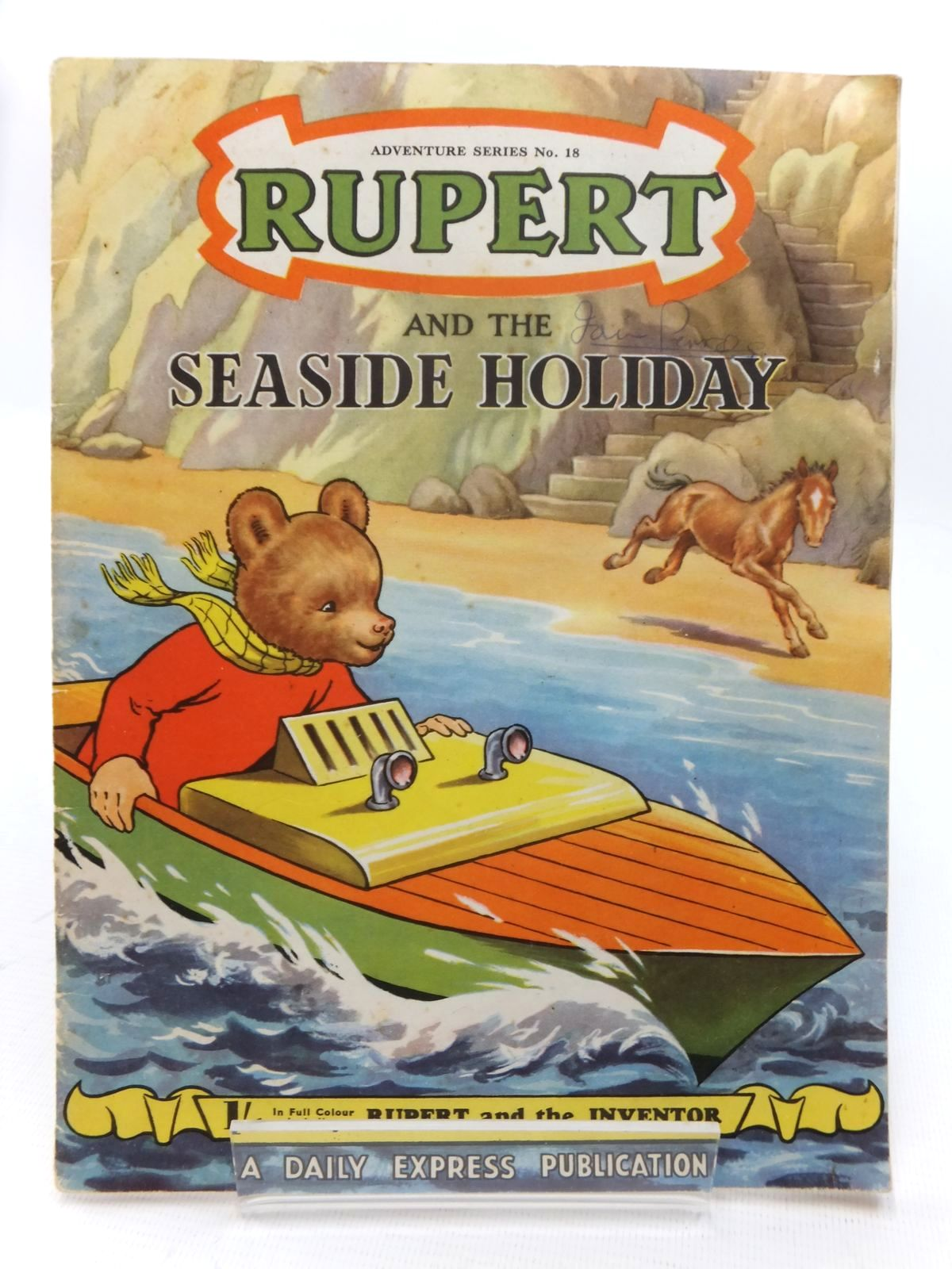 Rupert Adventure Series No. 18 - Rupert And The Seaside Holiday